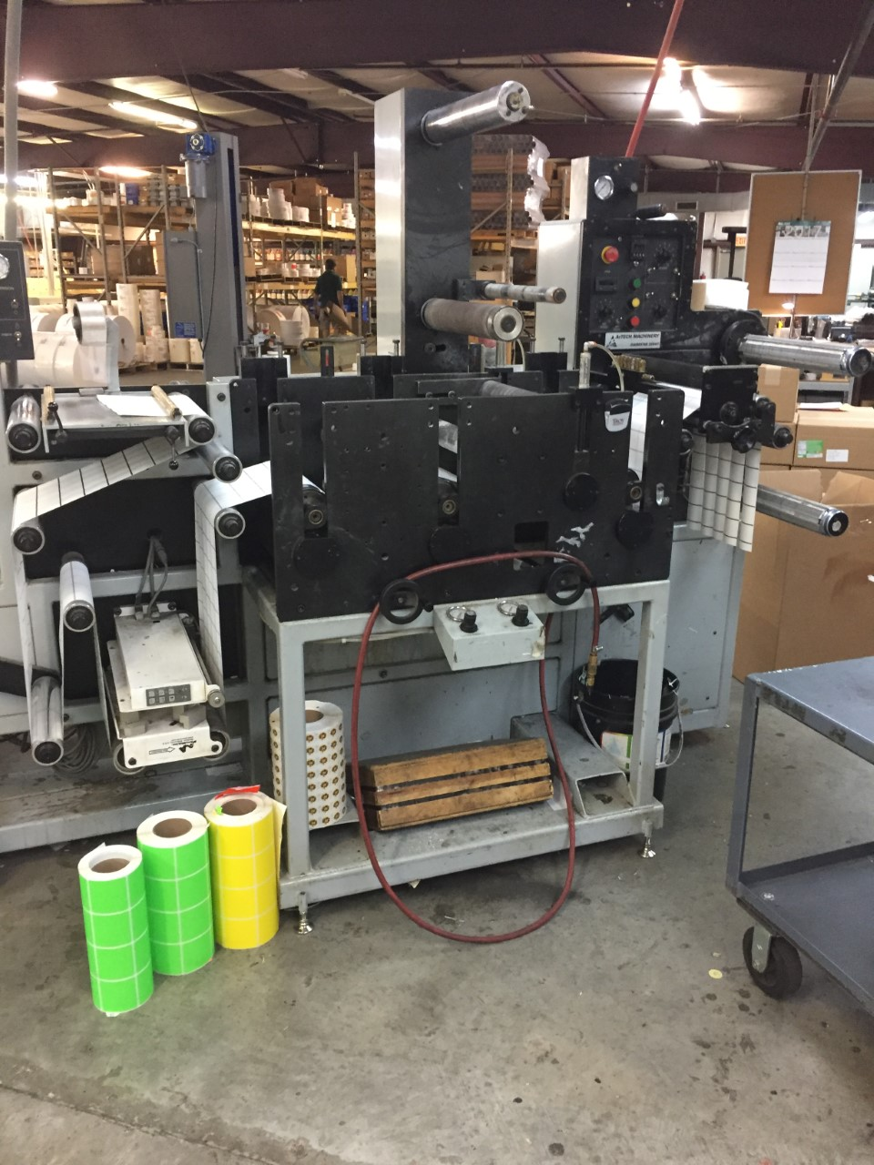 Aztech Diemaster DM-4013 - Used Flexo Printing Presses and Used Flexographic Equipment-3