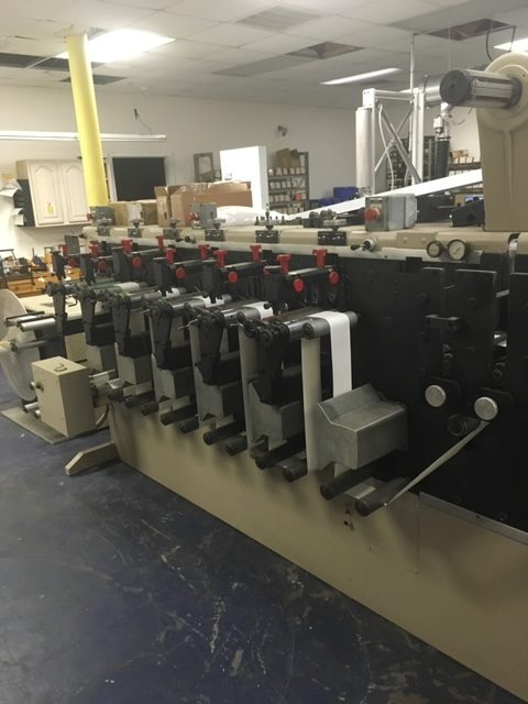 Webtron 750 - Used Flexo Printing Presses and Used Flexographic Equipment-4