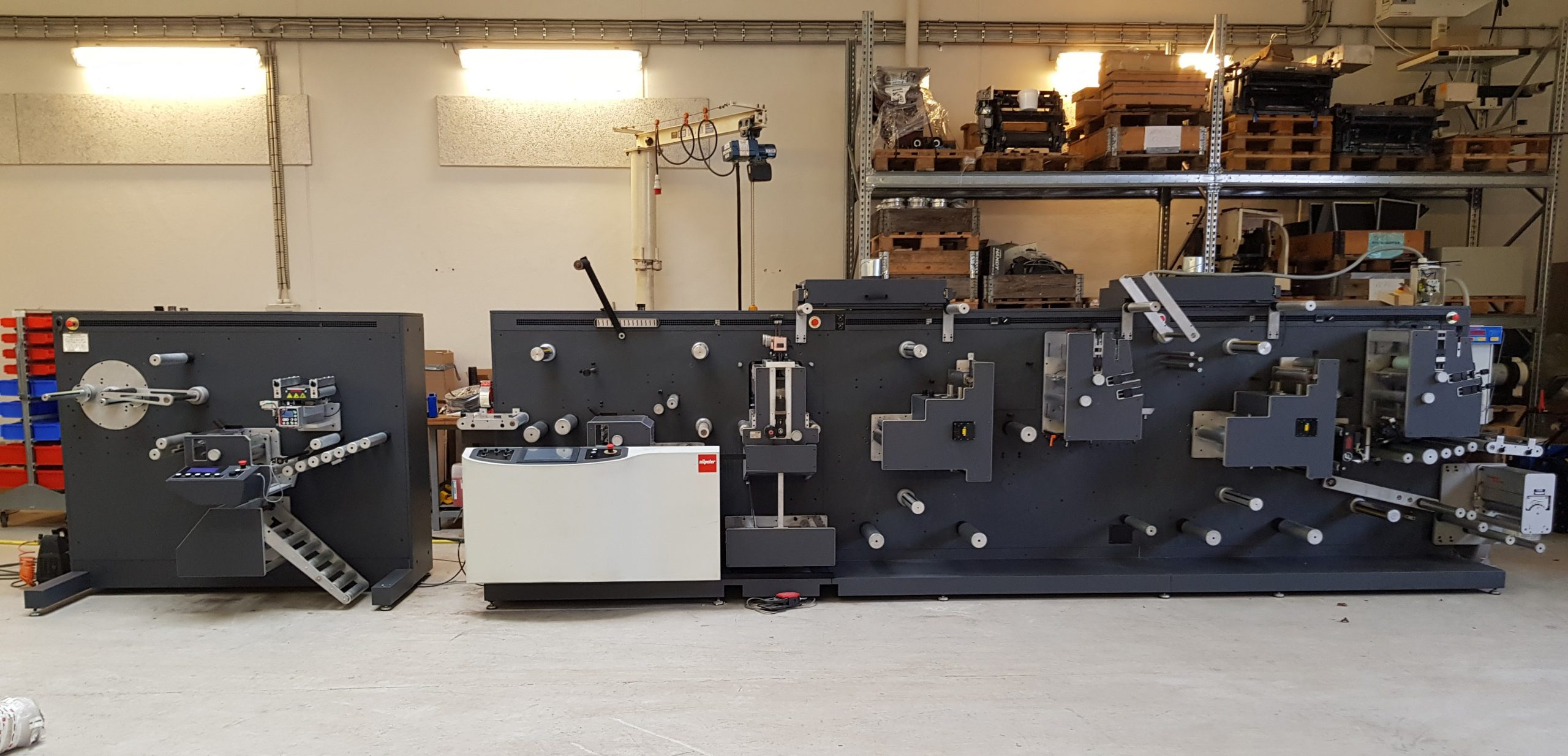 GM DC-330 - Used Flexo Printing Presses and Used Flexographic Equipment-0