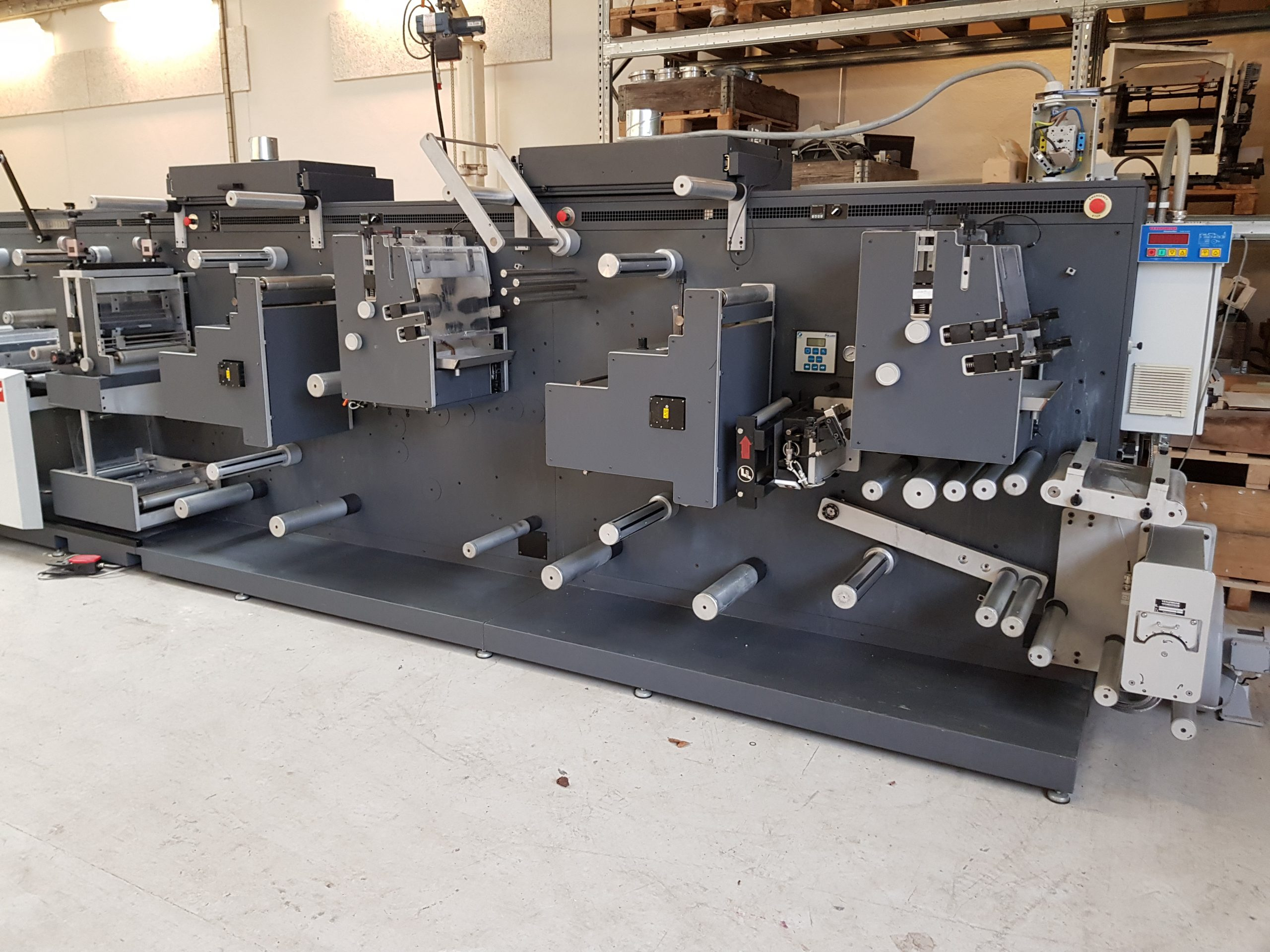 GM DC-330 - Used Flexo Printing Presses and Used Flexographic Equipment-2