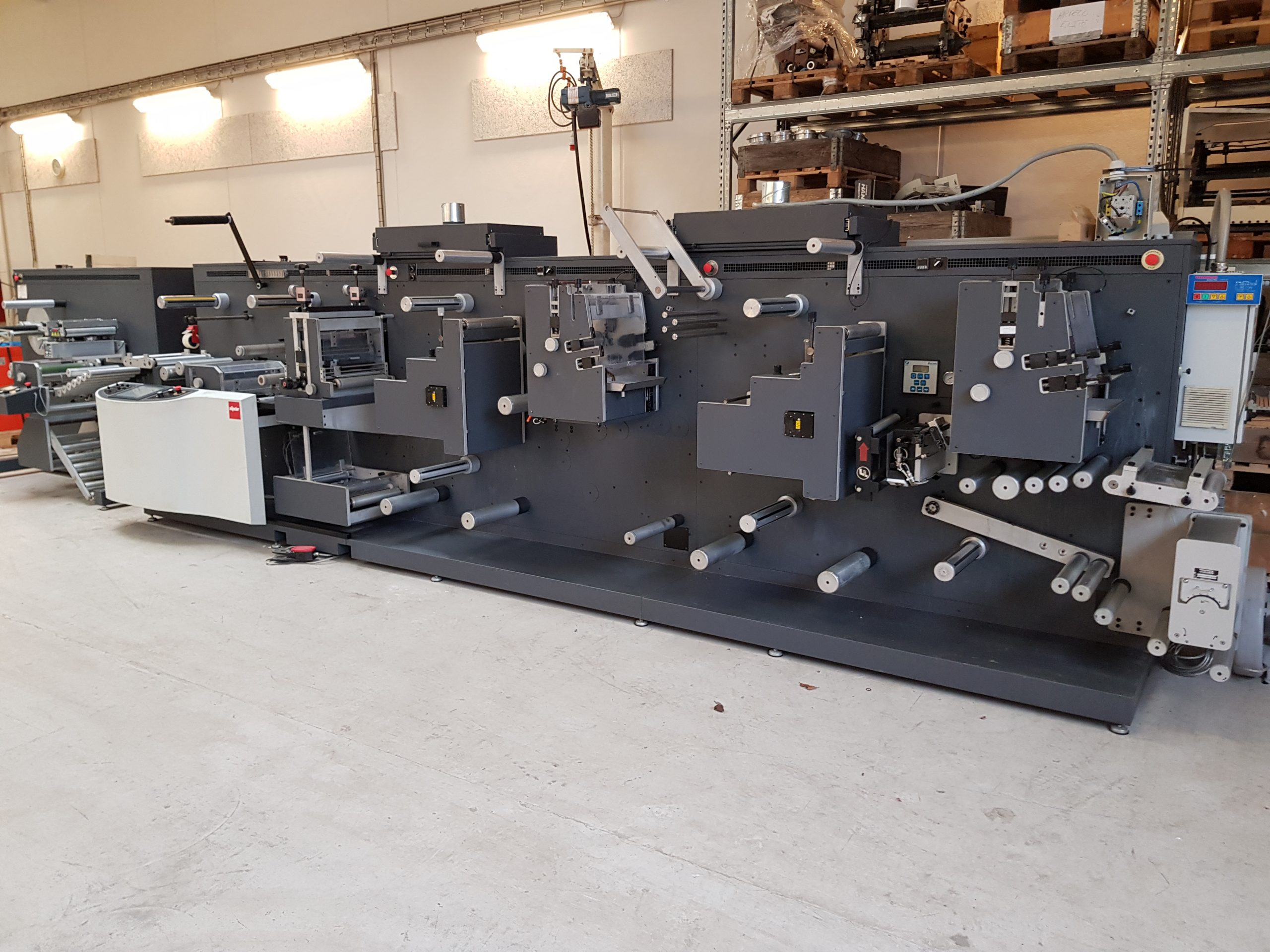 GM DC-330 - Used Flexo Printing Presses and Used Flexographic Equipment-3