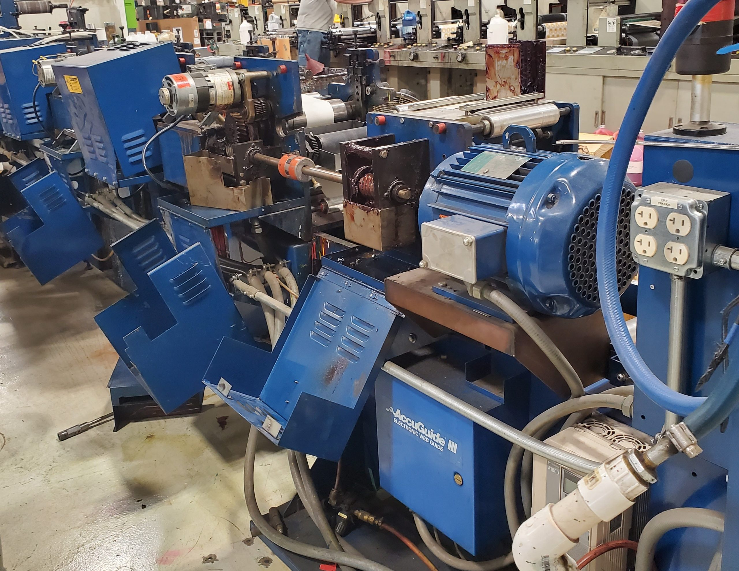 Allied 300 - Used Flexo Printing Presses and Used Flexographic Equipment-0