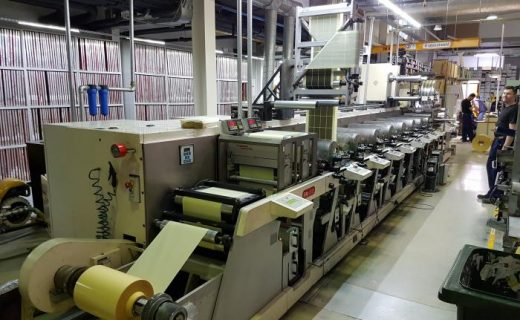 Nilpeter FA-4 - Used Flexo Printing Presses and Used Flexographic Equipment