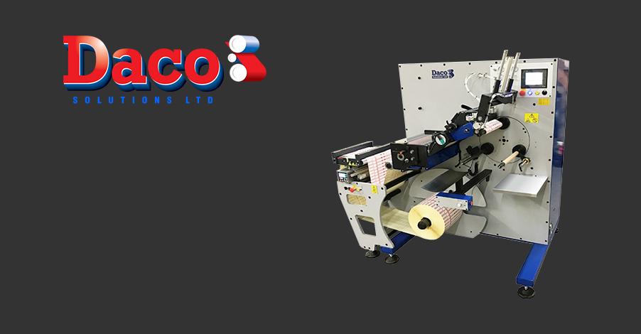 Daco PLR350 Semi Automatic Turret Rewinder