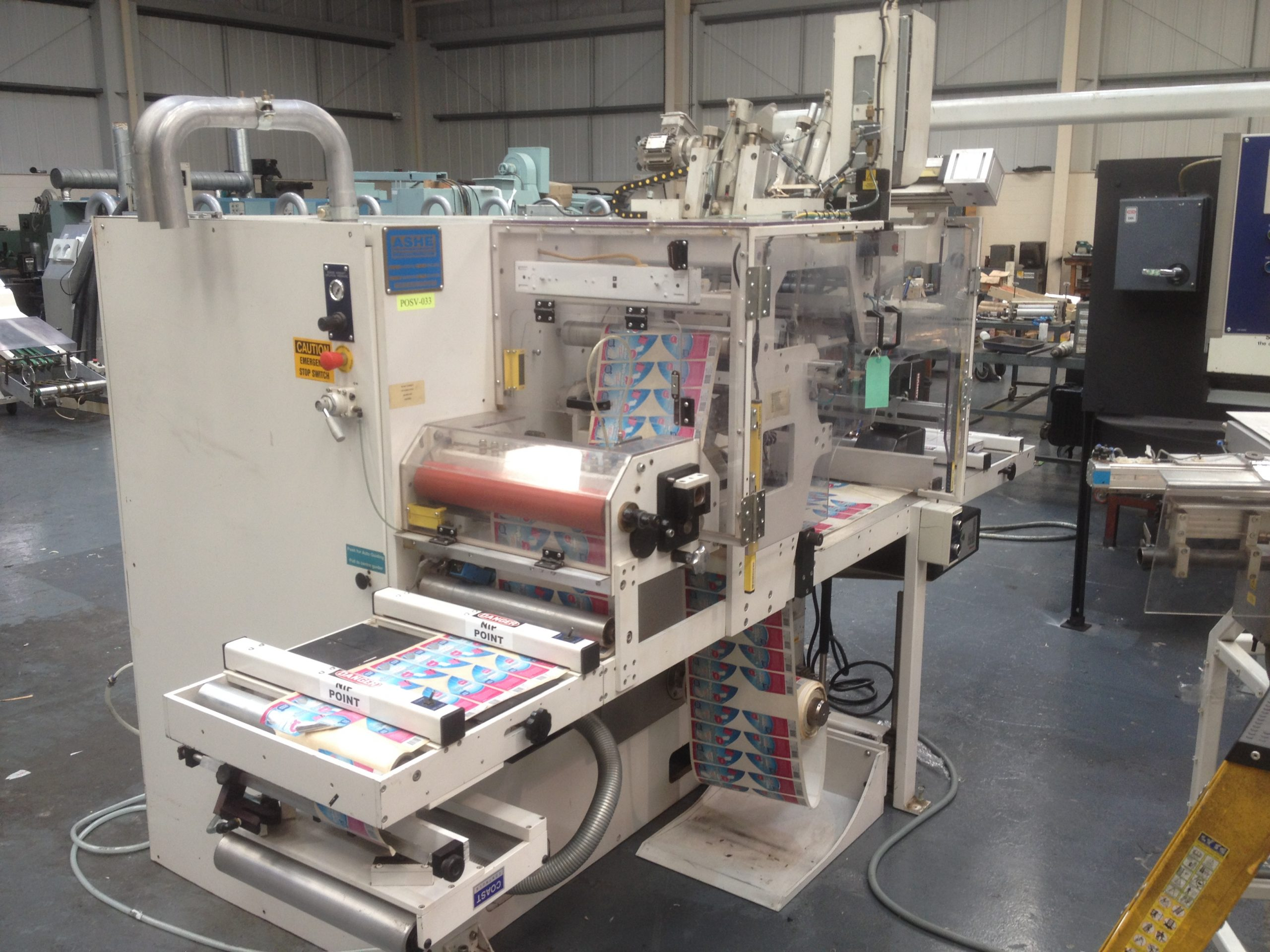 Ashe Opal 330 - Used Flexo Printing Presses and Used Flexographic Equipment-0