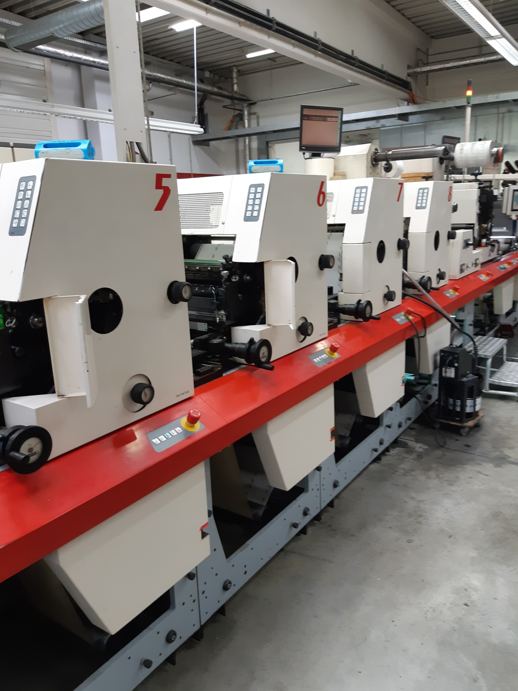 MPS EP410 - Used Flexo Printing Presses and Used Flexographic Equipment-5