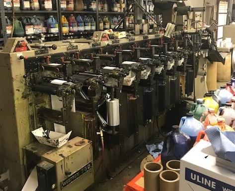 Webtron 750 - Used Flexo Printing Presses and Used Flexographic Equipment-0