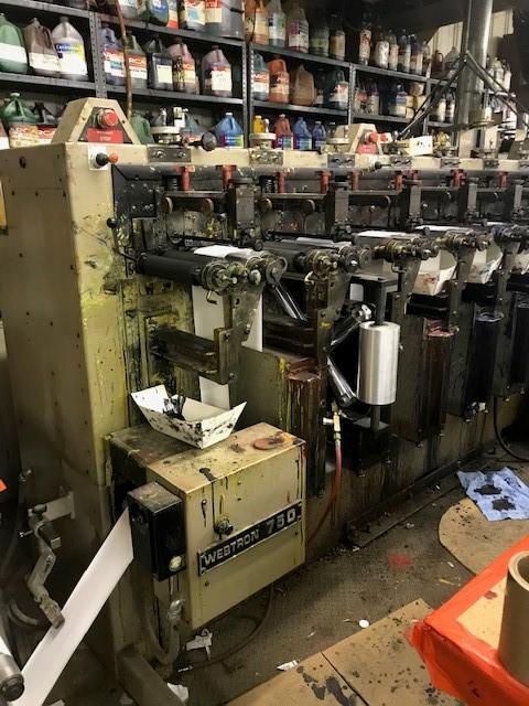Webtron 750 - Used Flexo Printing Presses and Used Flexographic Equipment-4