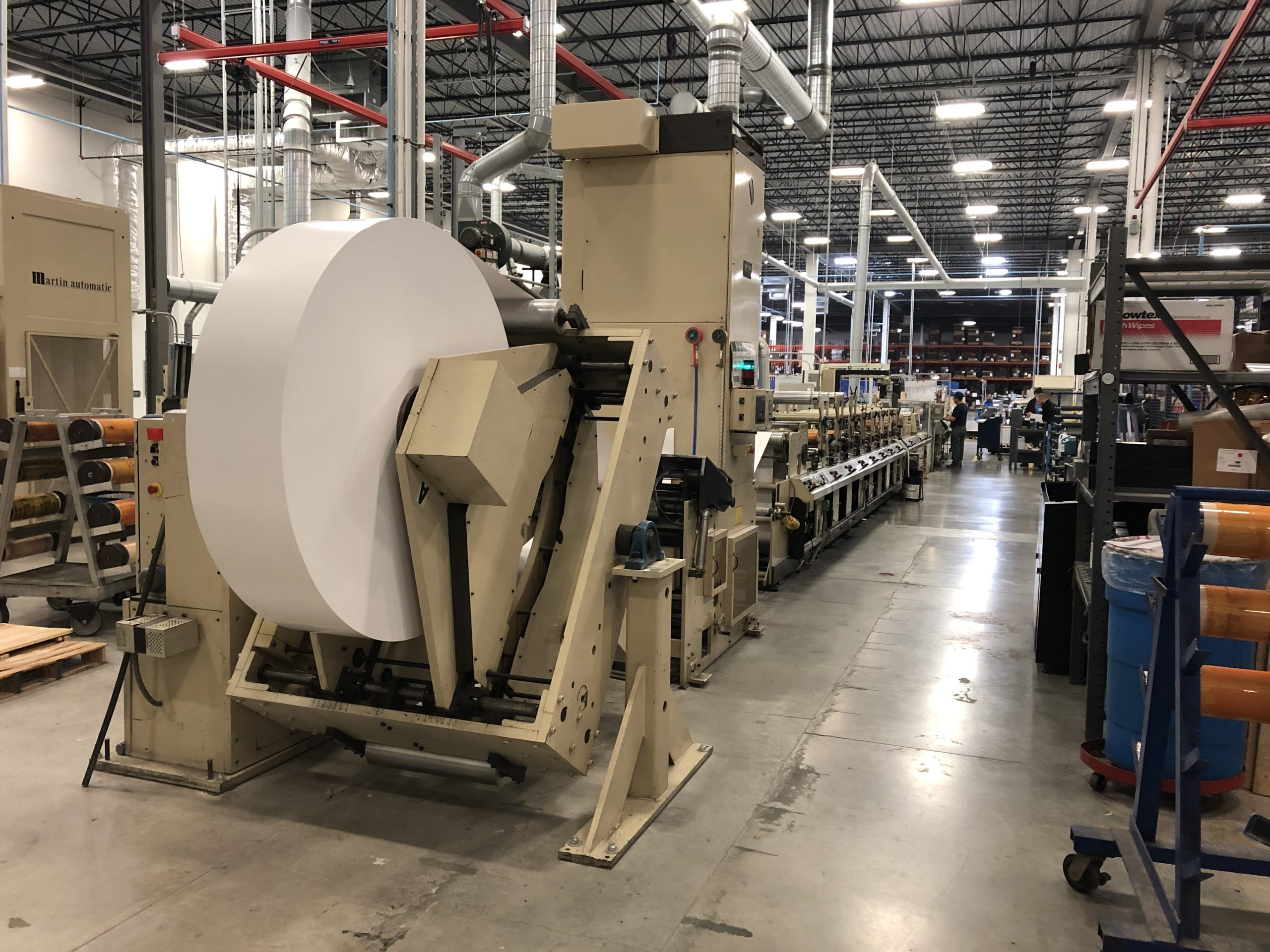 Mark Andy 4150 - Used Flexo Printing Presses and Used Flexographic Equipment-14