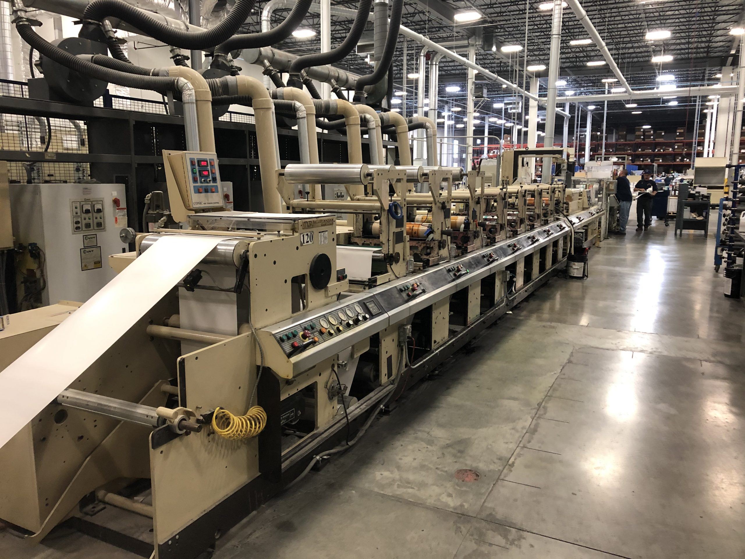 Mark Andy 4150 - Used Flexo Printing Presses and Used Flexographic Equipment-0