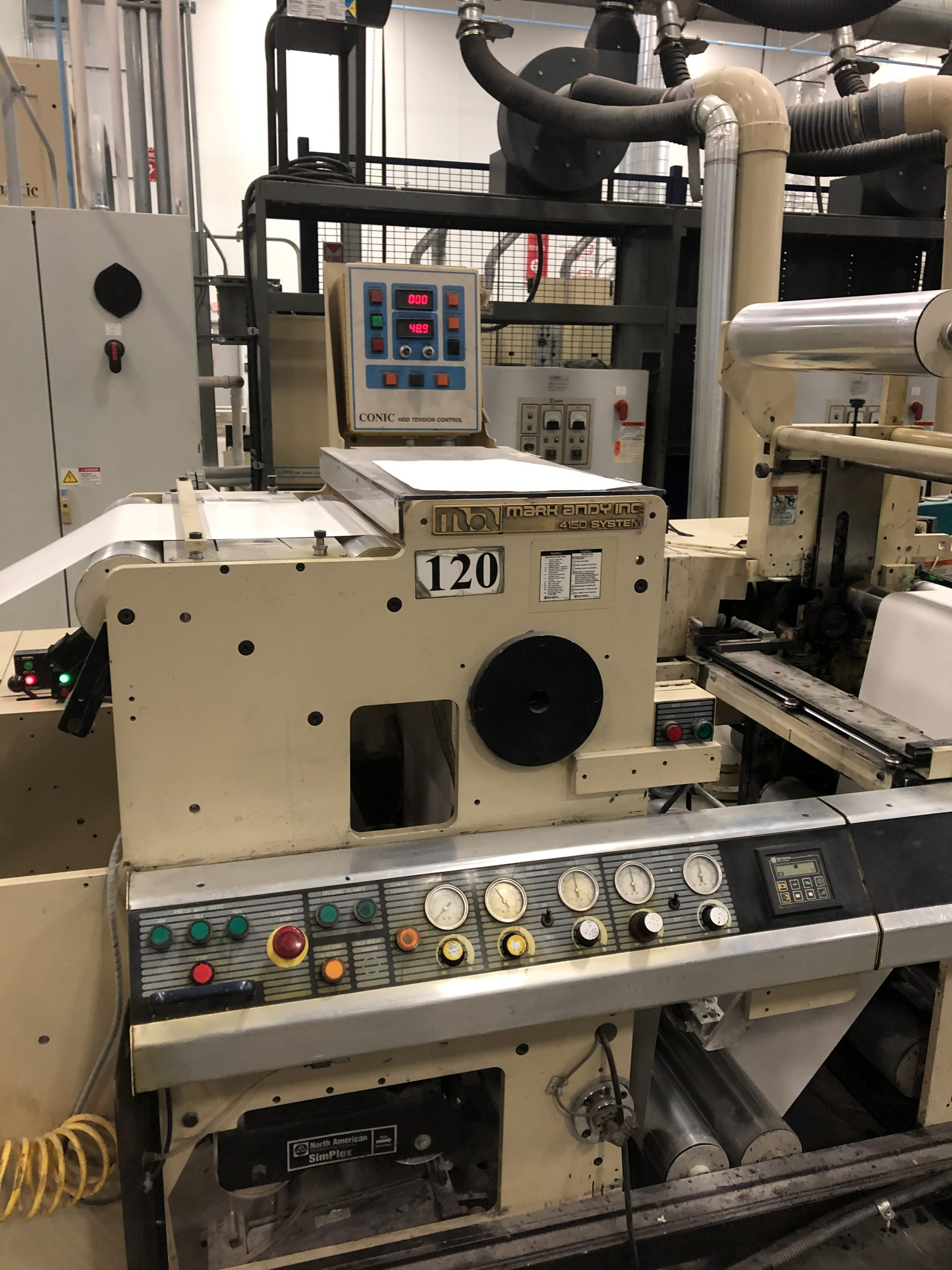 Mark Andy 4150 - Used Flexo Printing Presses and Used Flexographic Equipment-13