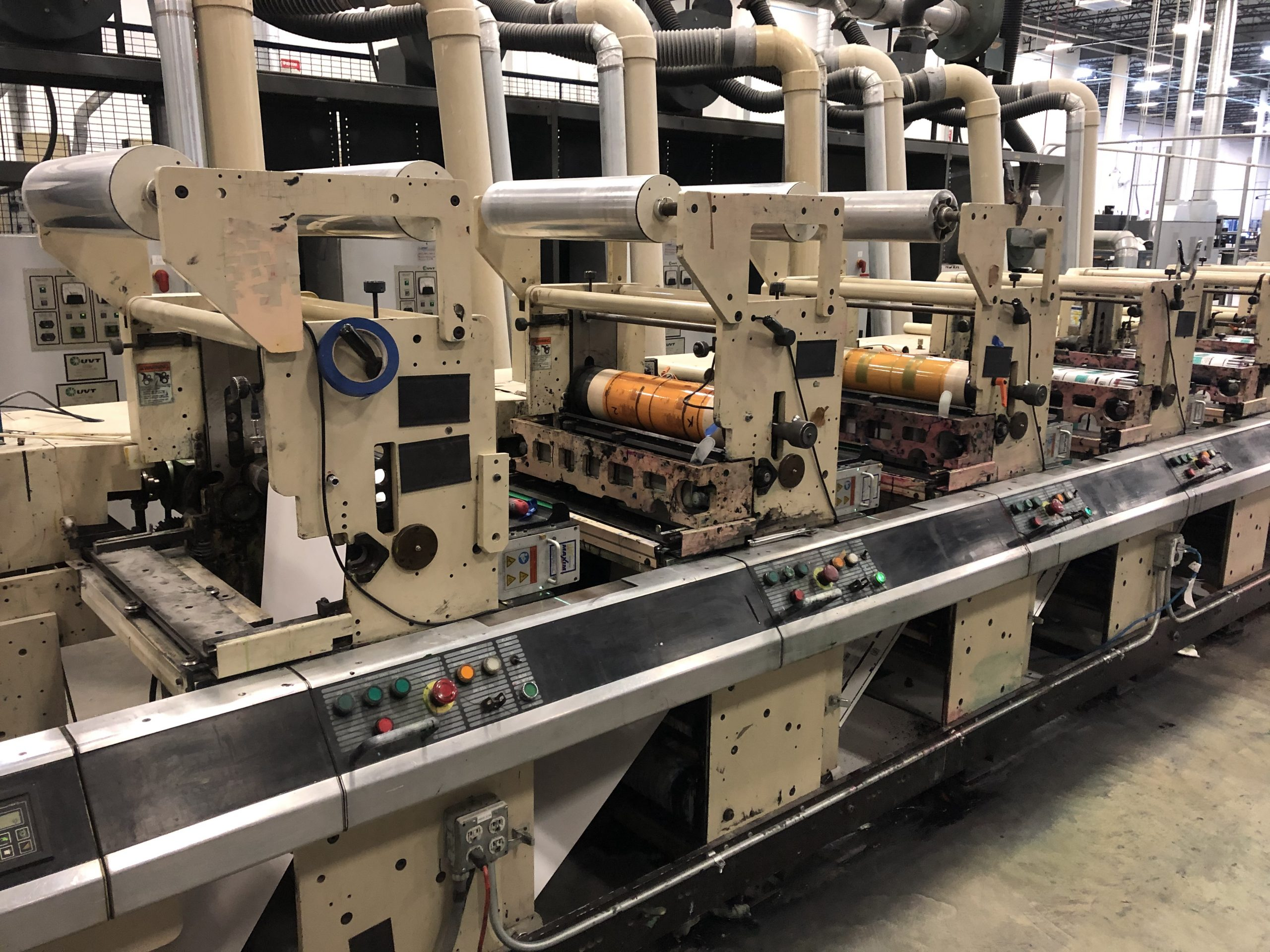 Mark Andy 4150 - Used Flexo Printing Presses and Used Flexographic Equipment-12