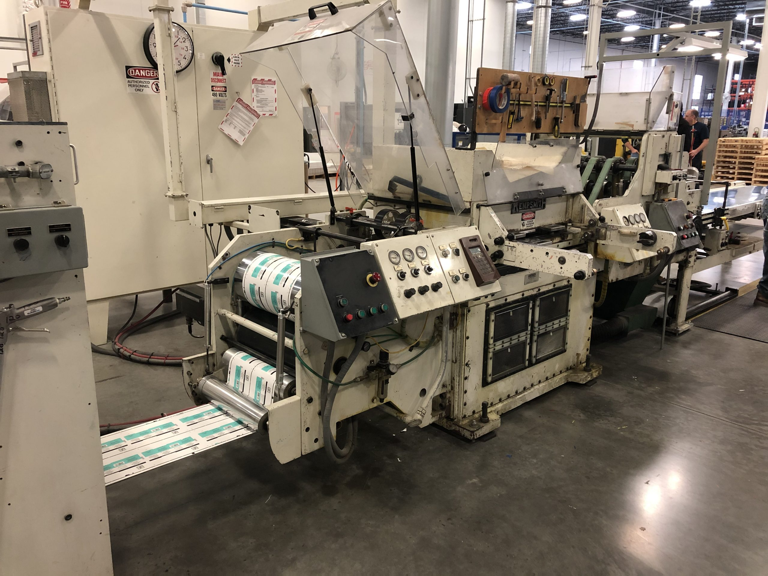 Mark Andy 4150 - Used Flexo Printing Presses and Used Flexographic Equipment-8
