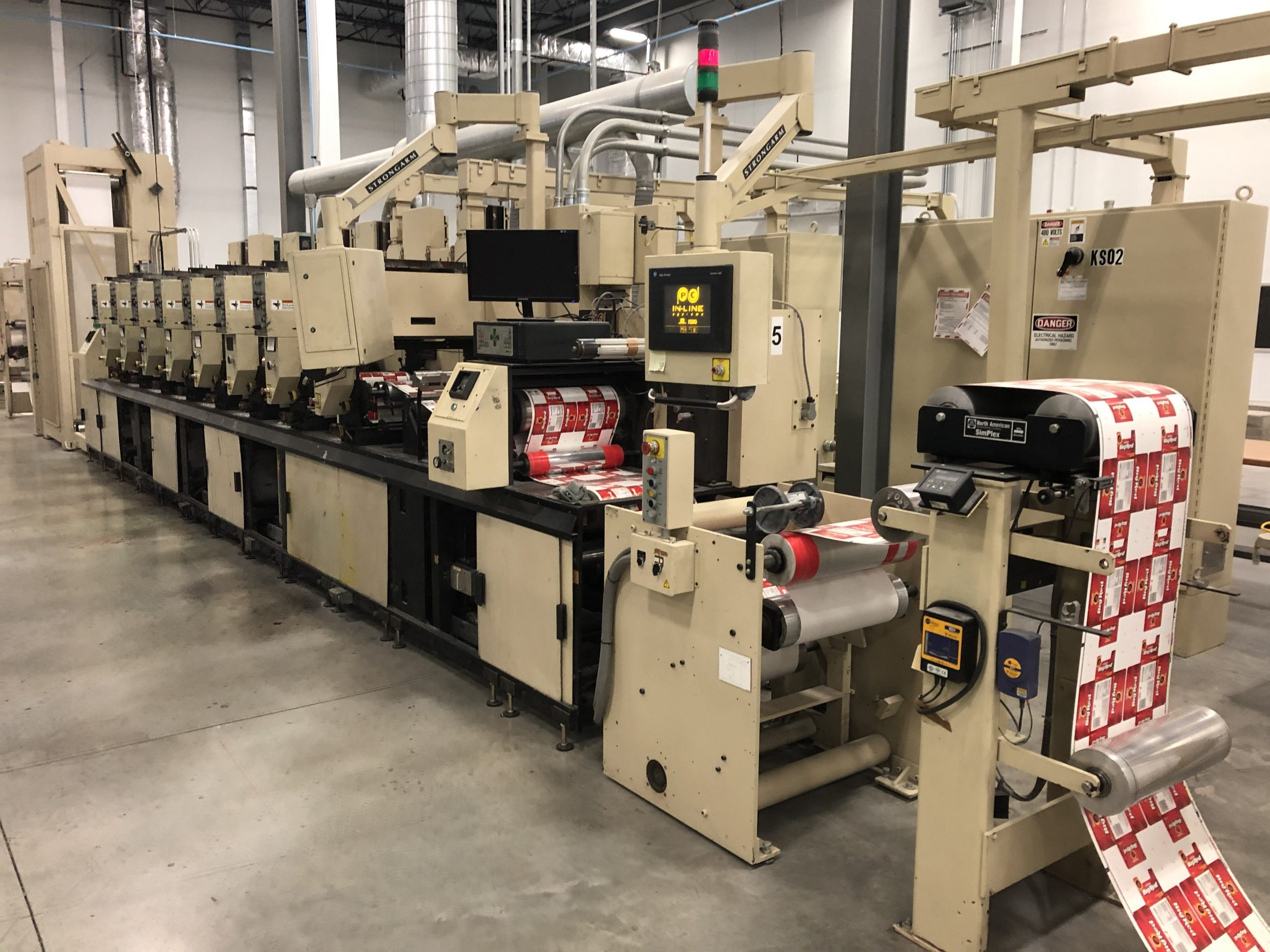 Mark Andy 4150 - Used Flexo Printing Presses and Used Flexographic Equipment-3