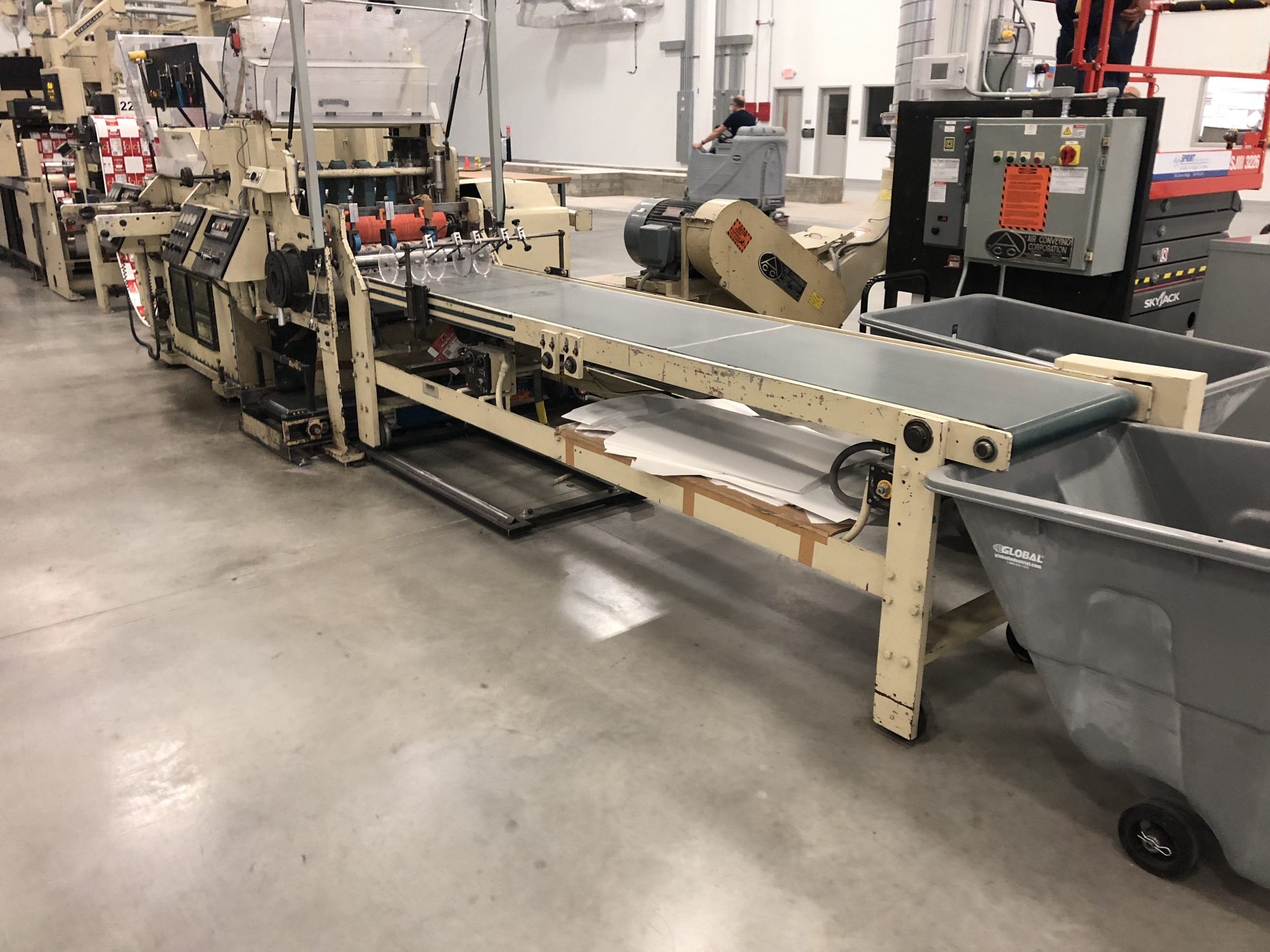Mark Andy 4150 - Used Flexo Printing Presses and Used Flexographic Equipment-1