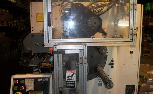 KTI JR1312 Turret Rewinder - Used Flexo Printing Presses and Used Flexographic Equipment