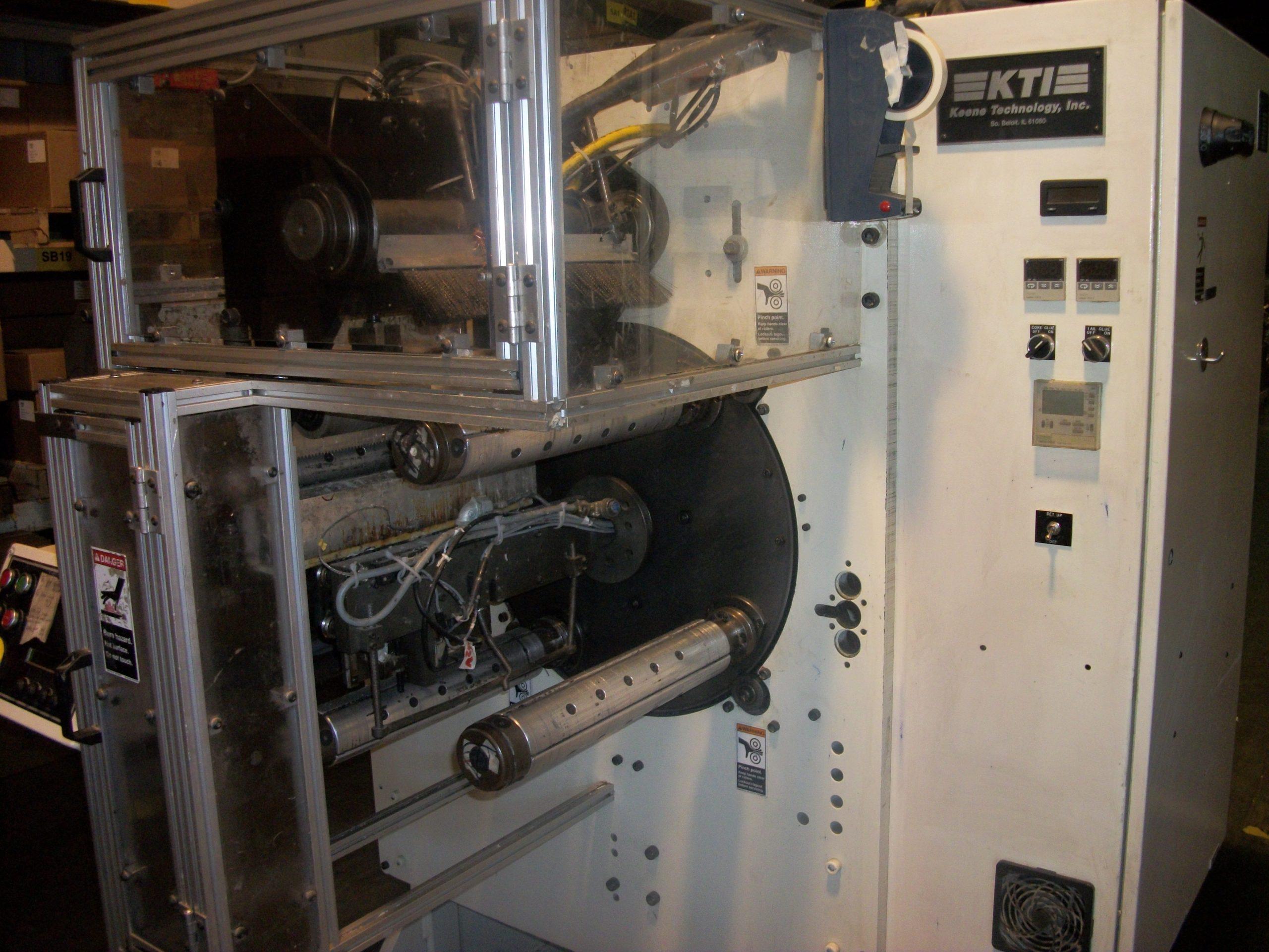 KTI JR1312 Turret Rewinder - Used Flexo Printing Presses and Used Flexographic Equipment-2