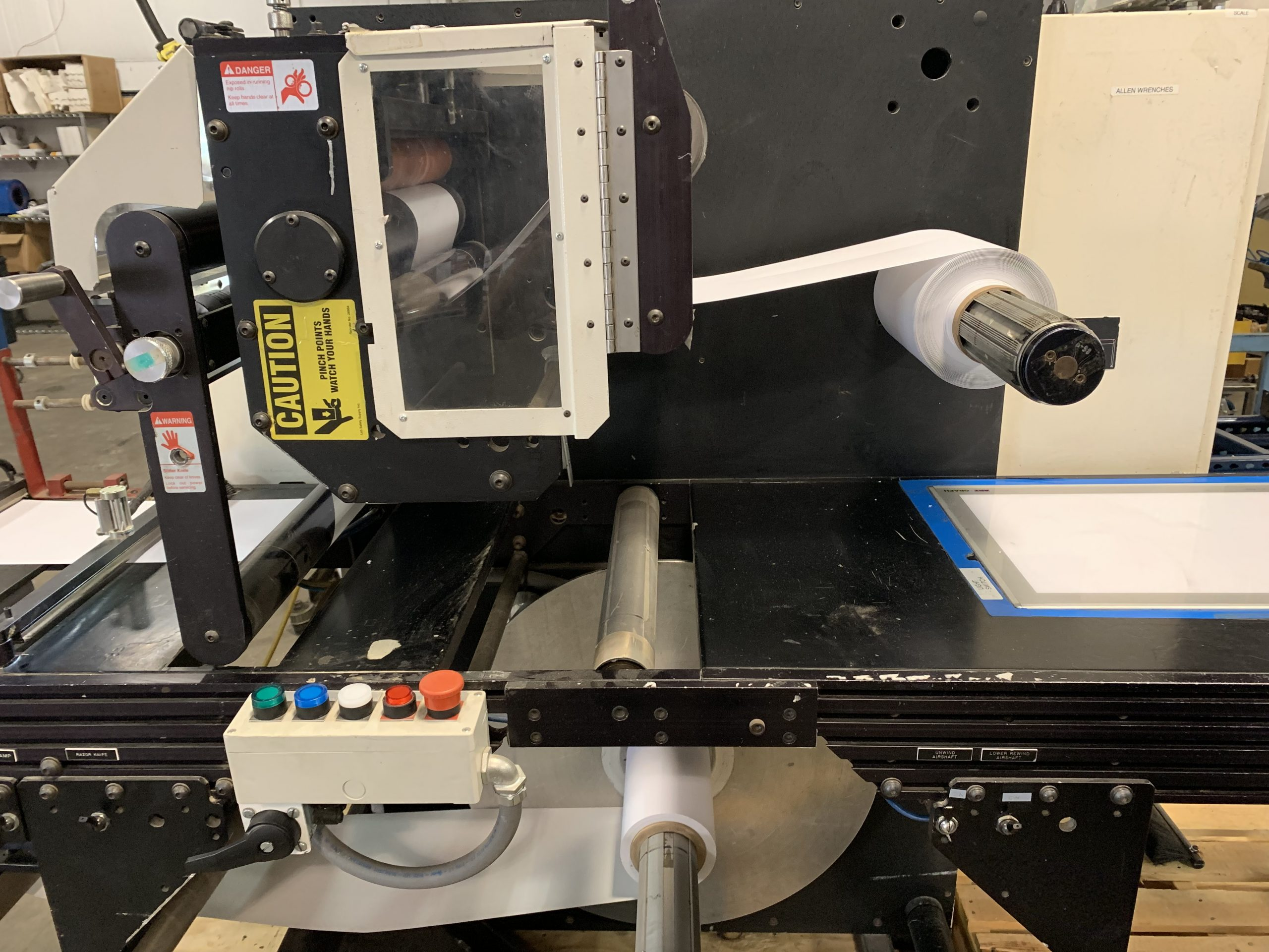 PIC Slitter Rewinder - Used Flexo Printing Presses and Used Flexographic Equipment-0