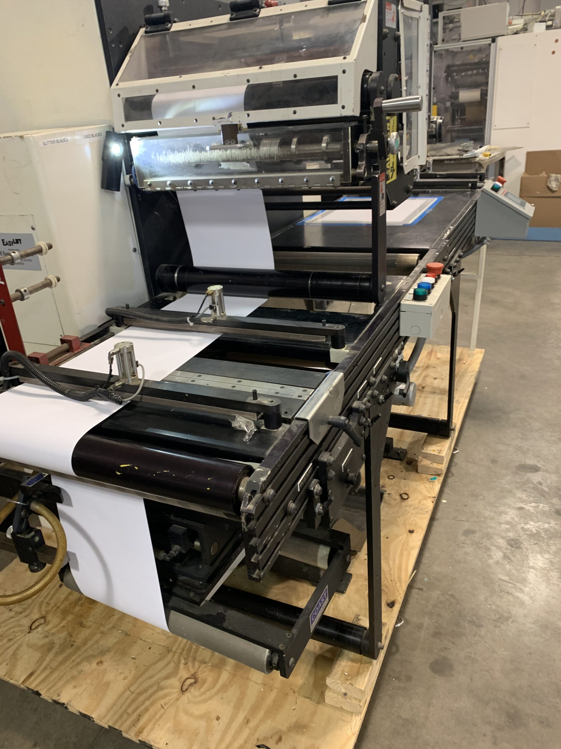 PIC Slitter Rewinder - Used Flexo Printing Presses and Used Flexographic Equipment-2