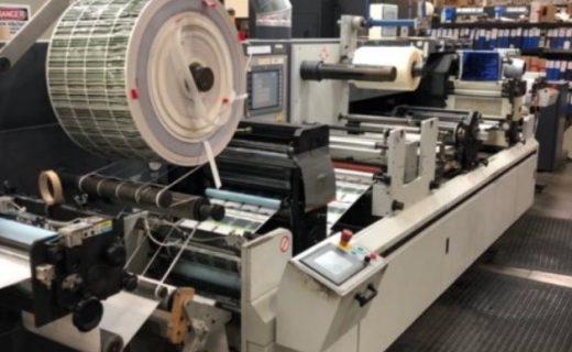 ABG Digicon Omega Series 1 - Used Flexo Printing Presses and Used Flexographic Equipment