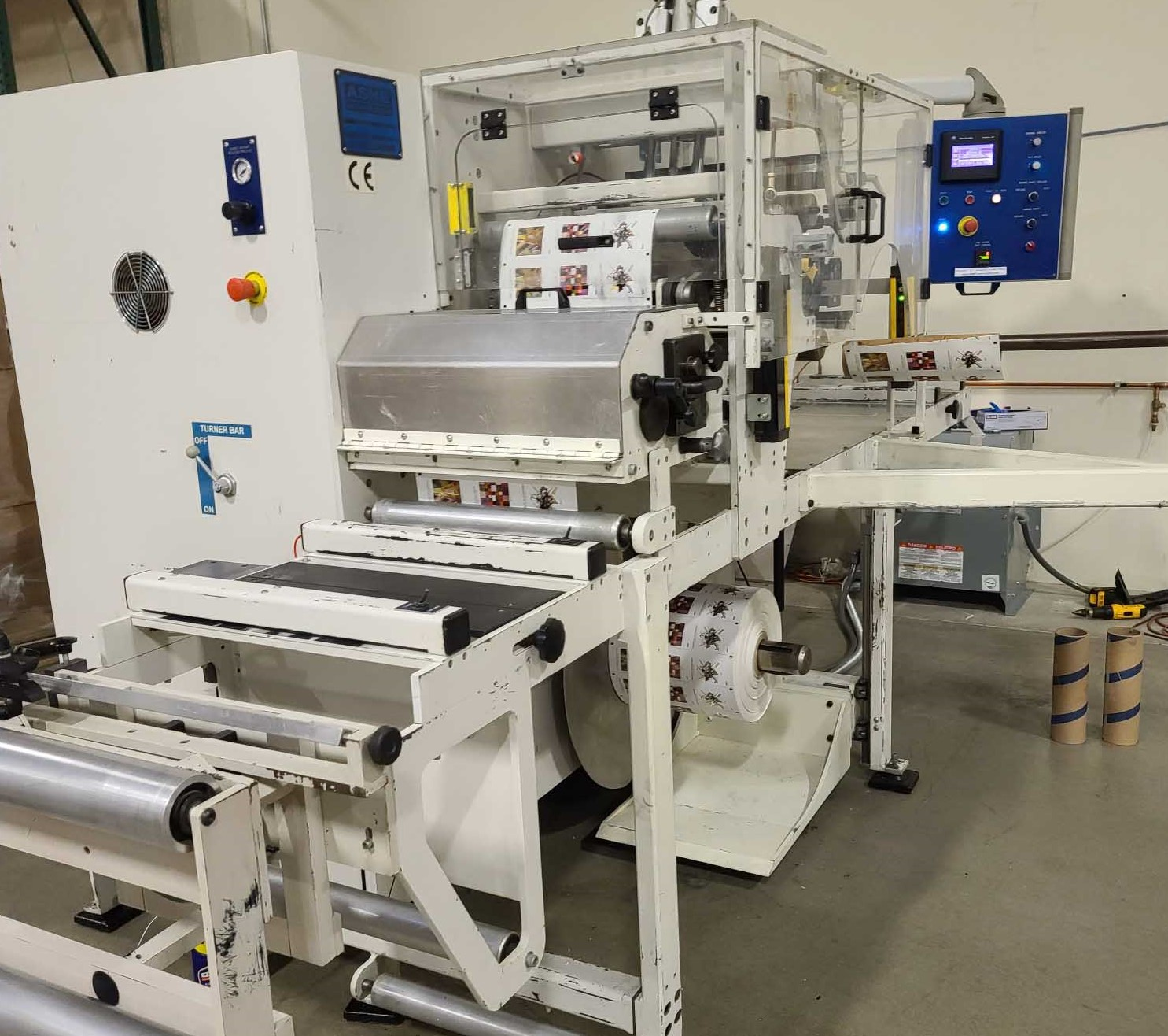 Ashe Opal 410 - Used Flexo Printing Presses and Used Flexographic Equipment-0