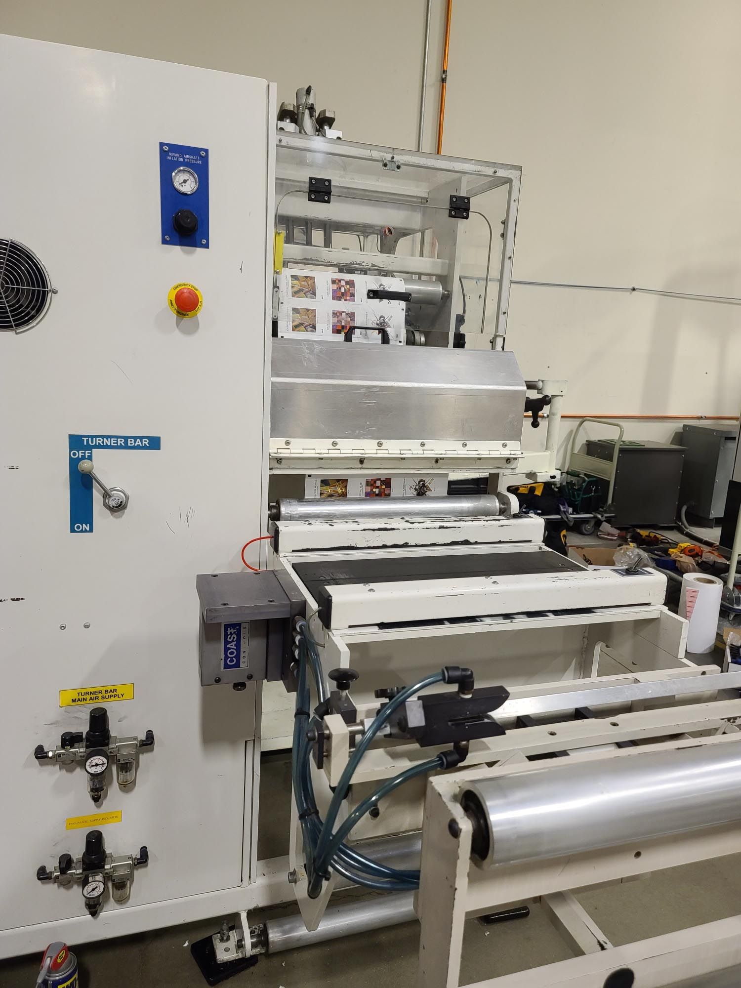 Ashe Opal 410 - Used Flexo Printing Presses and Used Flexographic Equipment-10