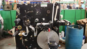 Rotoflex Racer 1000 - Used Flexo Printing Presses and Used Flexographic Equipment