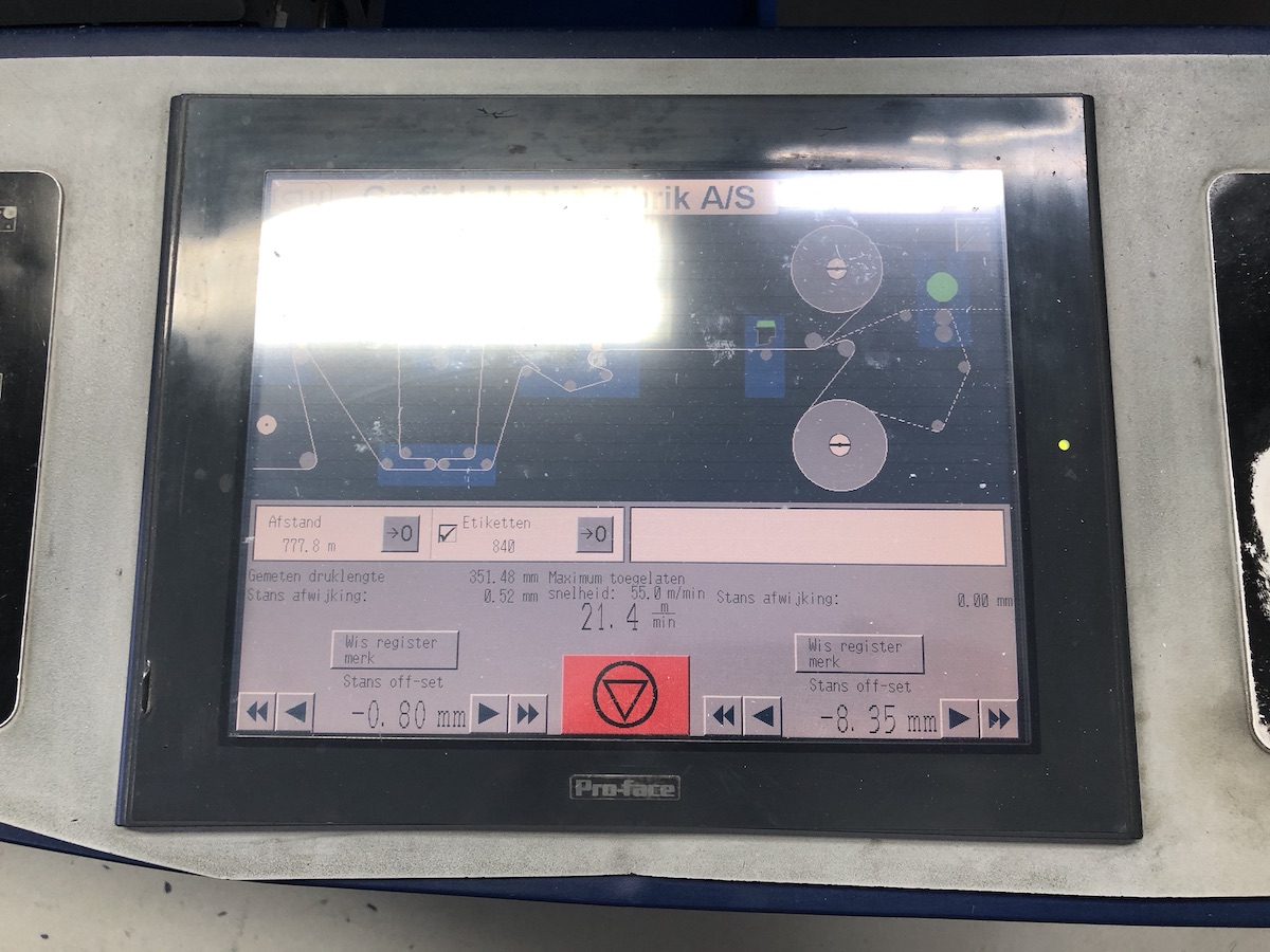 GM DC330 - Used Flexo Printing Presses and Used Flexographic Equipment-4