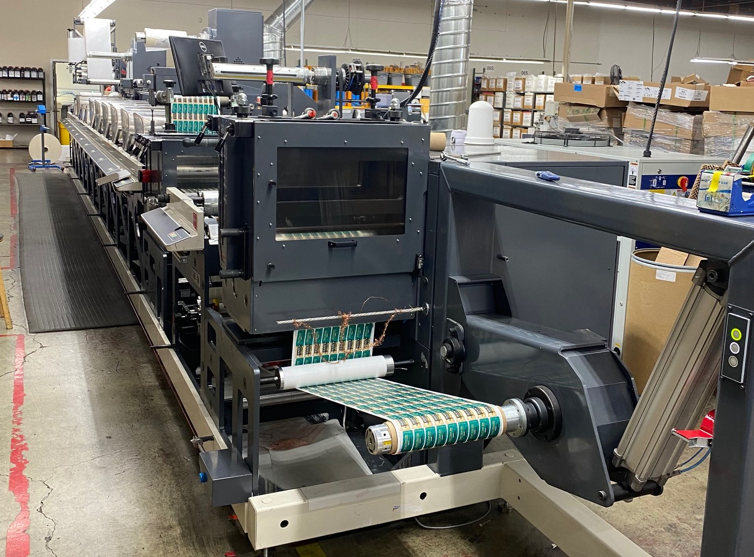 Nilpeter FA-14 - Used Flexo Printing Presses and Used Flexographic Equipment-0