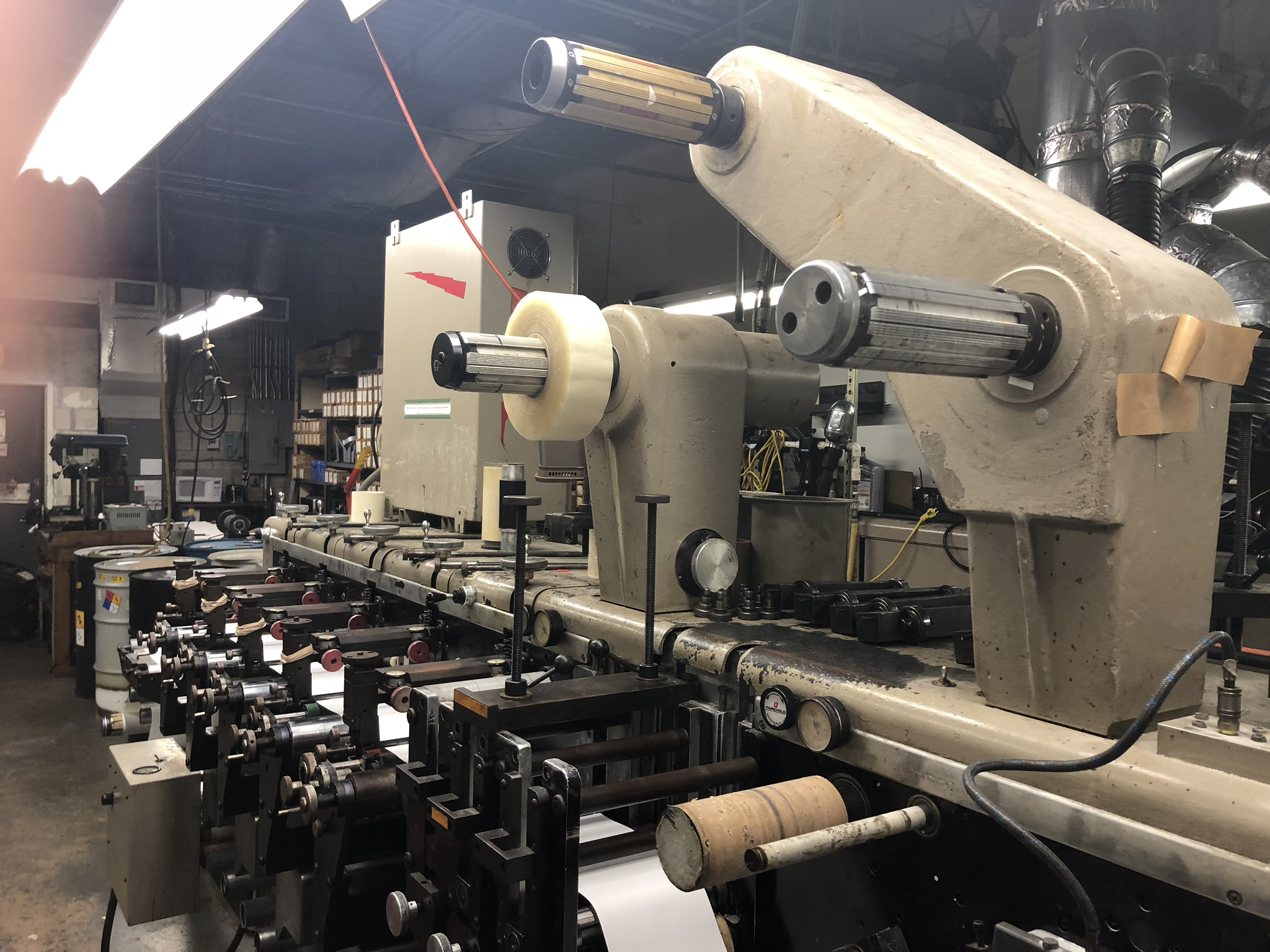 Webtron 650 - Used Flexo Printing Presses and Used Flexographic Equipment-0