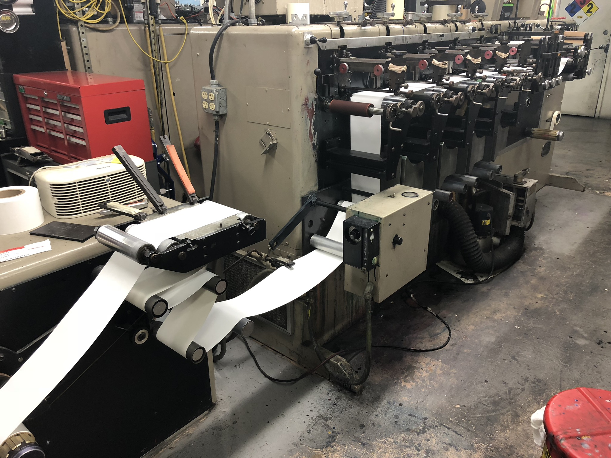Webtron 650 - Used Flexo Printing Presses and Used Flexographic Equipment-2