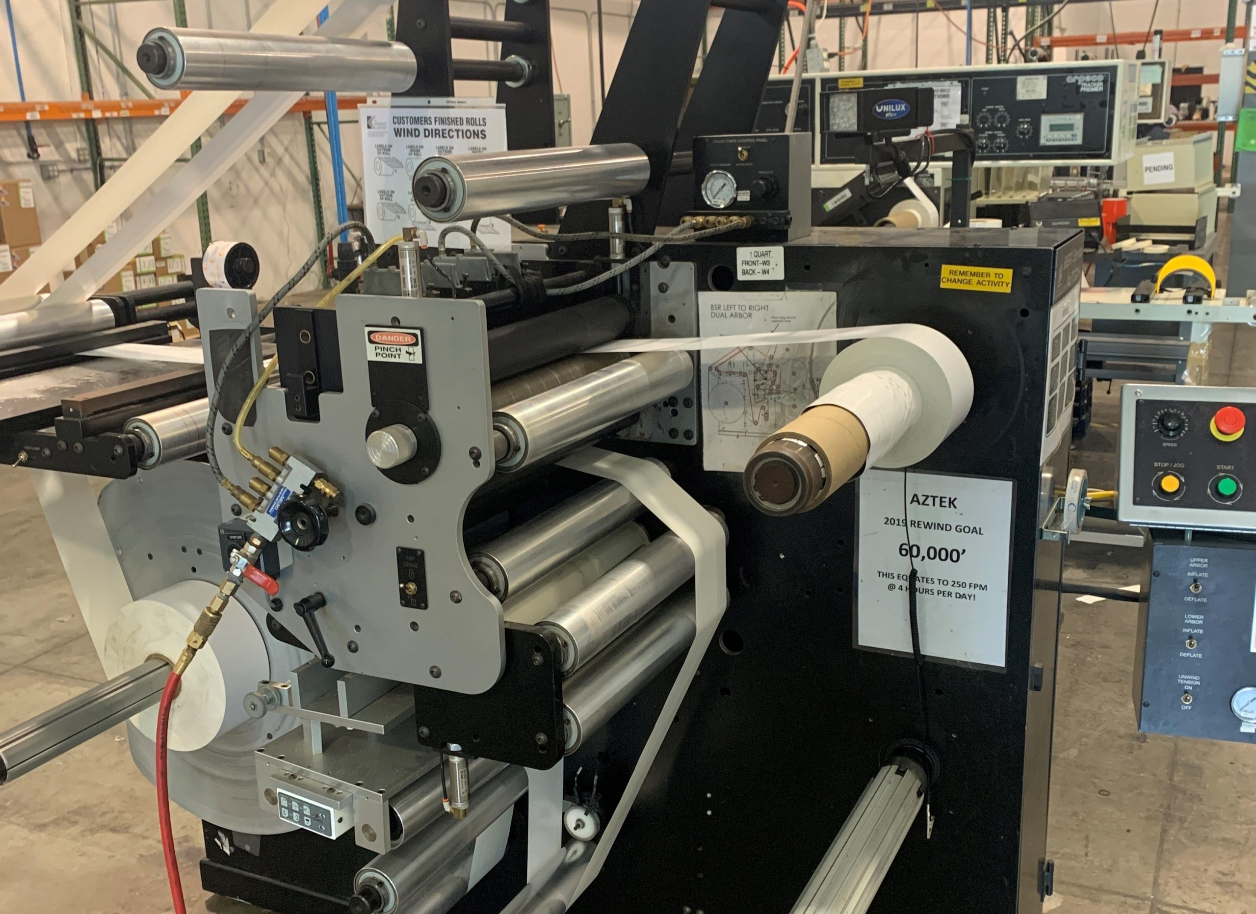 Aztech BSR4018 - Used Flexo Printing Presses and Used Flexographic Equipment-0