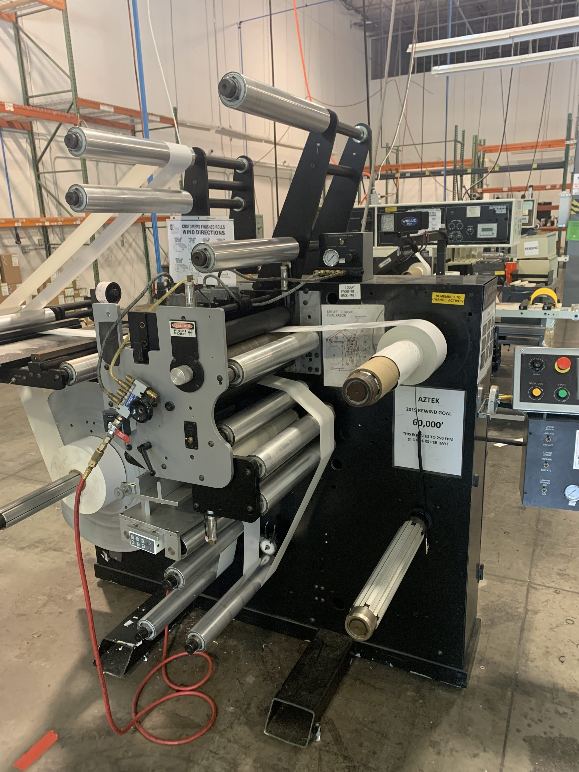 Aztech BSR4018 - Used Flexo Printing Presses and Used Flexographic Equipment-2