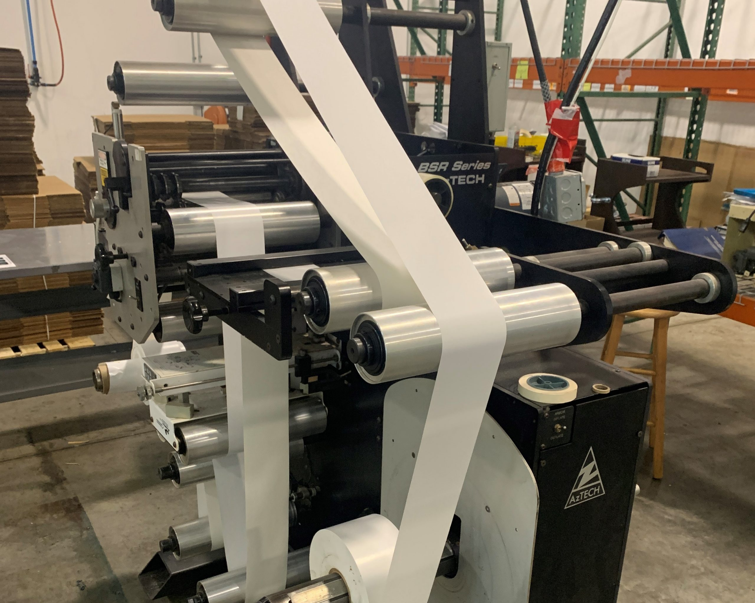 Aztech BSR4013 - Used Flexo Printing Presses and Used Flexographic Equipment-0