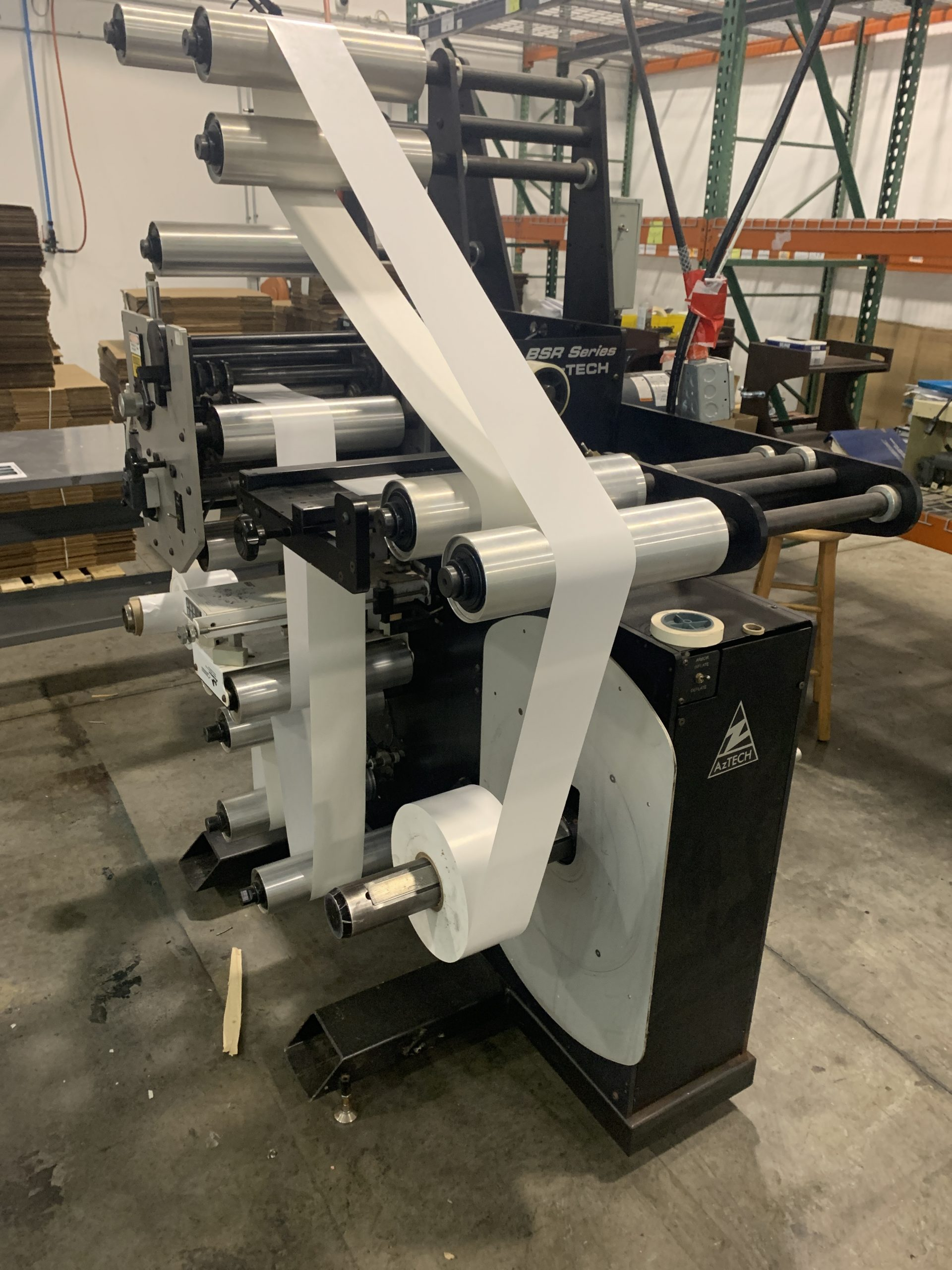 Aztech BSR4013 - Used Flexo Printing Presses and Used Flexographic Equipment-2