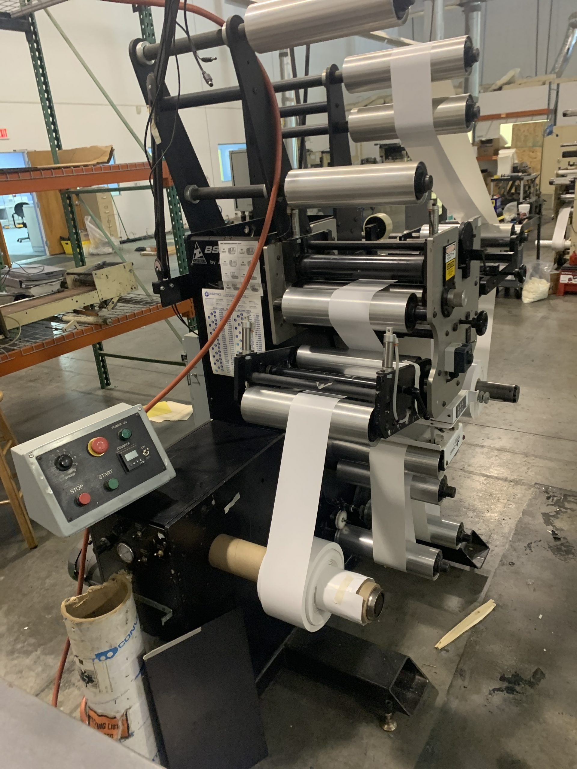 Aztech BSR4013 - Used Flexo Printing Presses and Used Flexographic Equipment-4