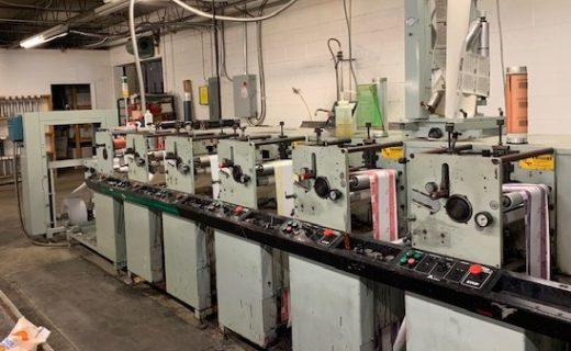 Allied 310 - Used Flexo Printing Presses and Used Flexographic Equipment