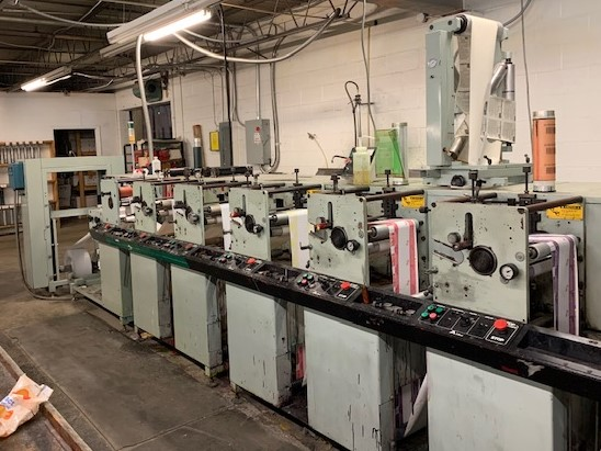 Allied 310 - Used Flexo Printing Presses and Used Flexographic Equipment-0