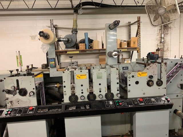 Allied 310 - Used Flexo Printing Presses and Used Flexographic Equipment-2