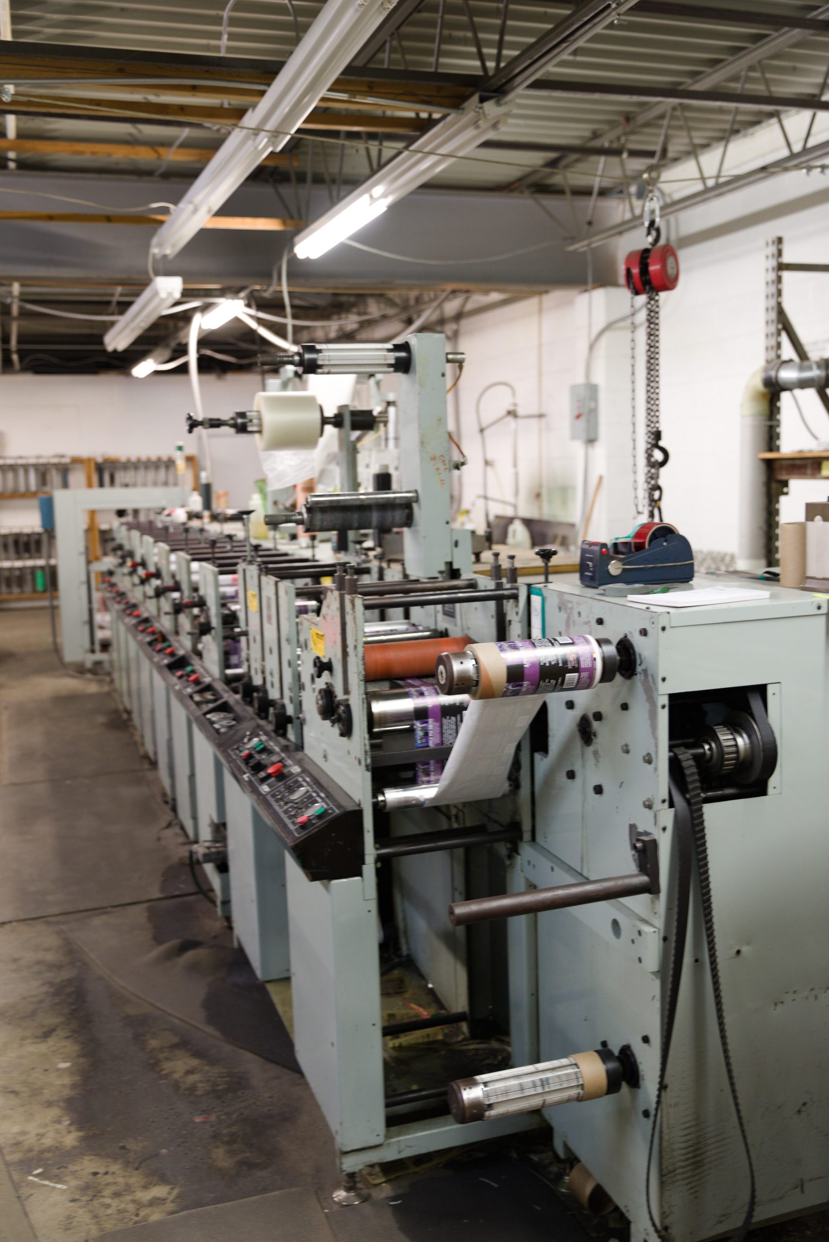 Allied 310 - Used Flexo Printing Presses and Used Flexographic Equipment-3