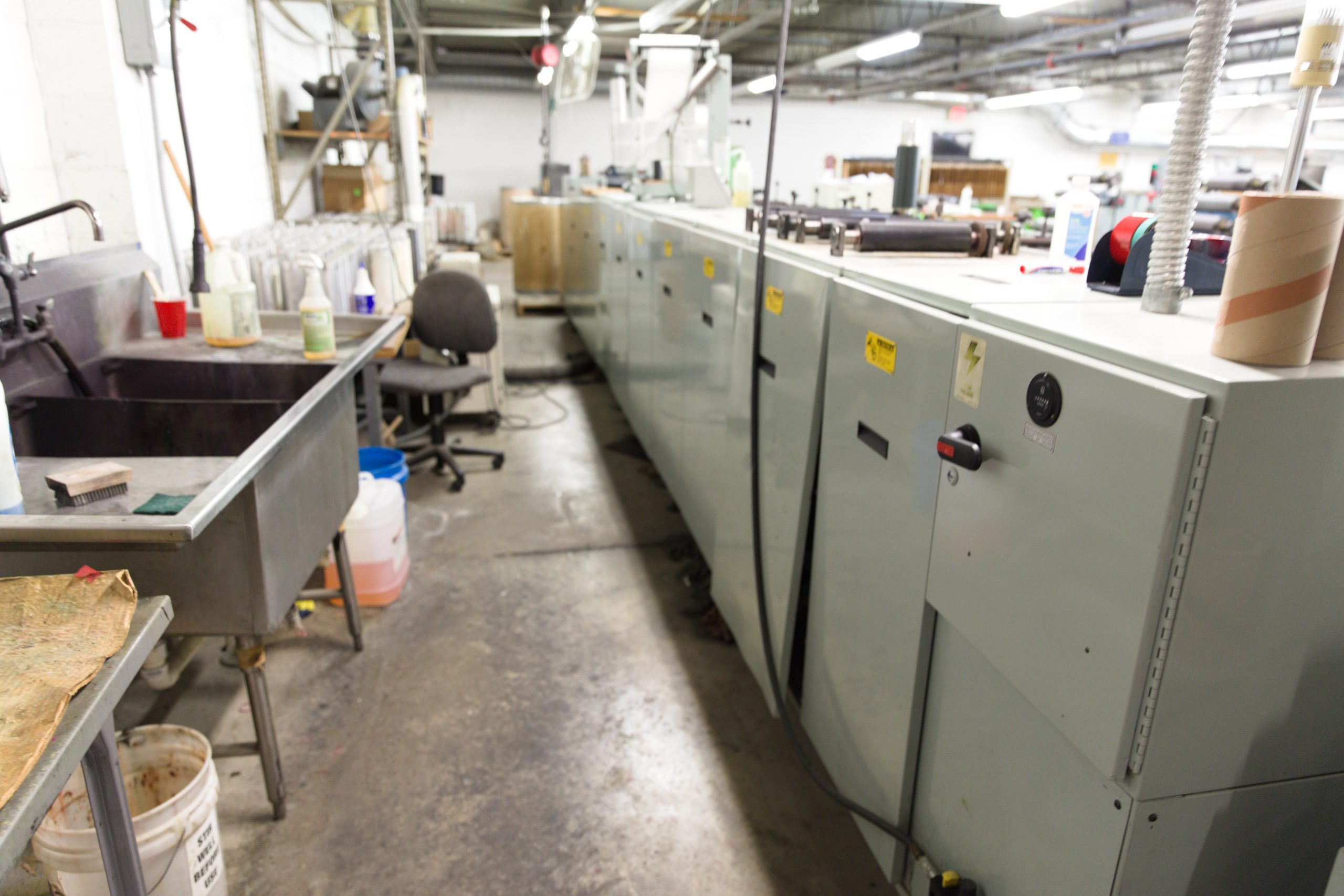 Allied 310 - Used Flexo Printing Presses and Used Flexographic Equipment-10