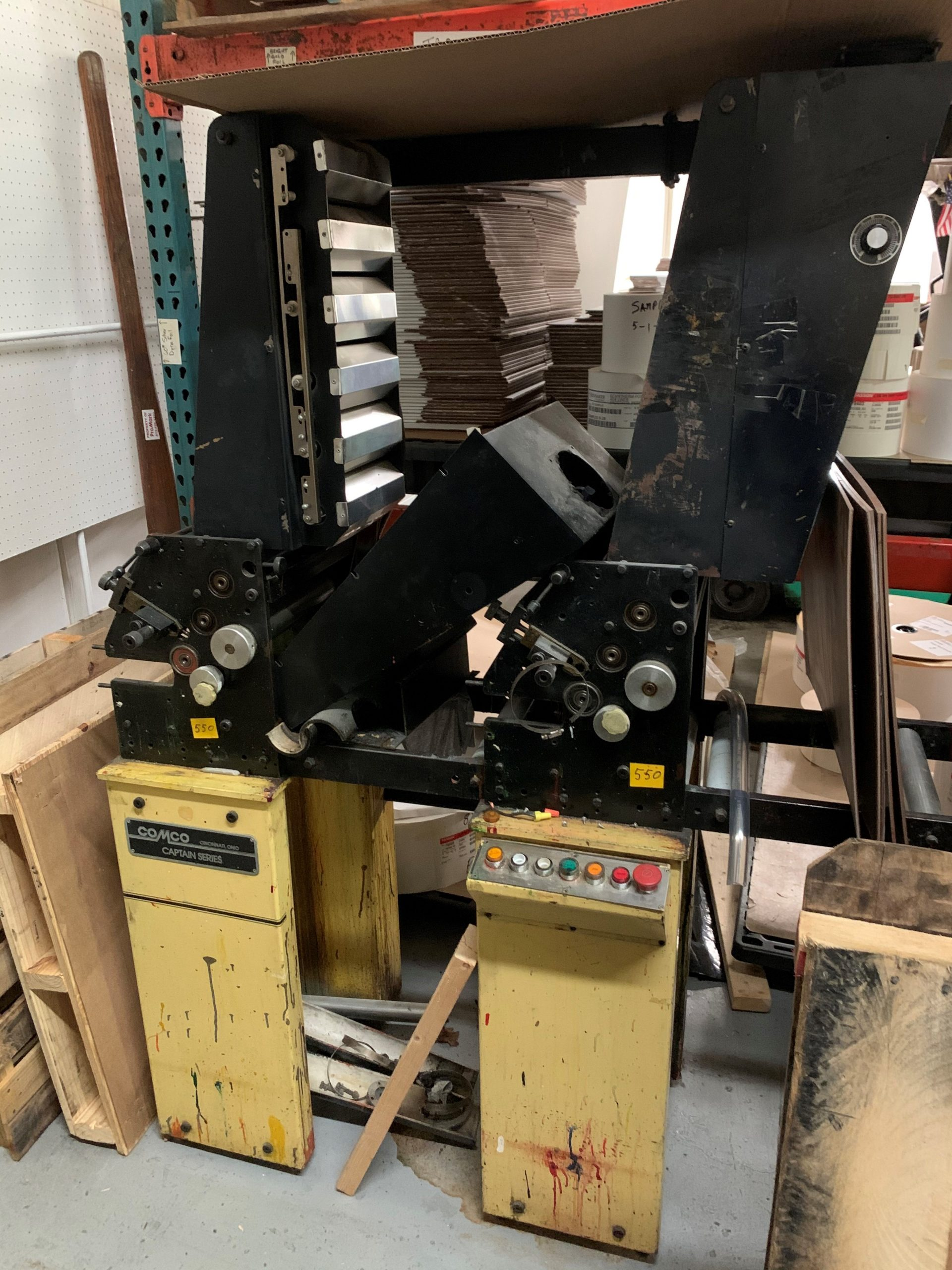 Comco Captain - Used Flexo Printing Presses and Used Flexographic Equipment-11