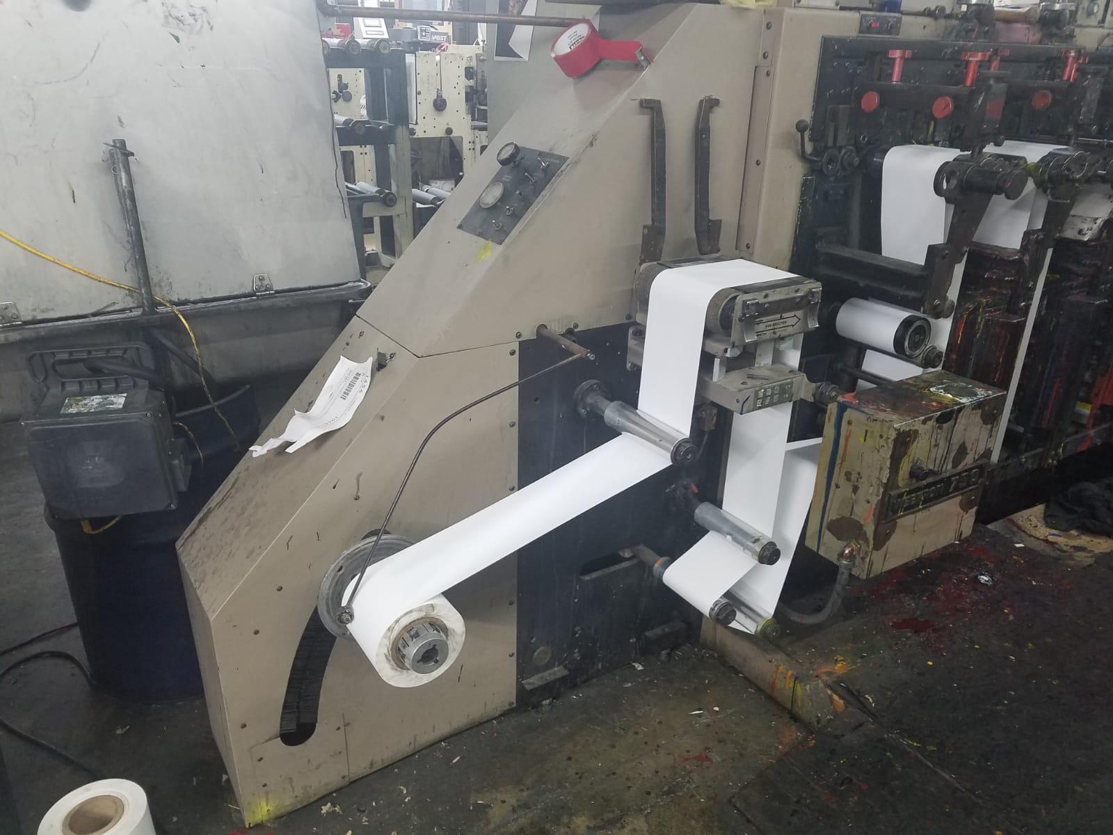 Webtron 750 HQV - Used Flexo Printing Presses and Used Flexographic Equipment-9