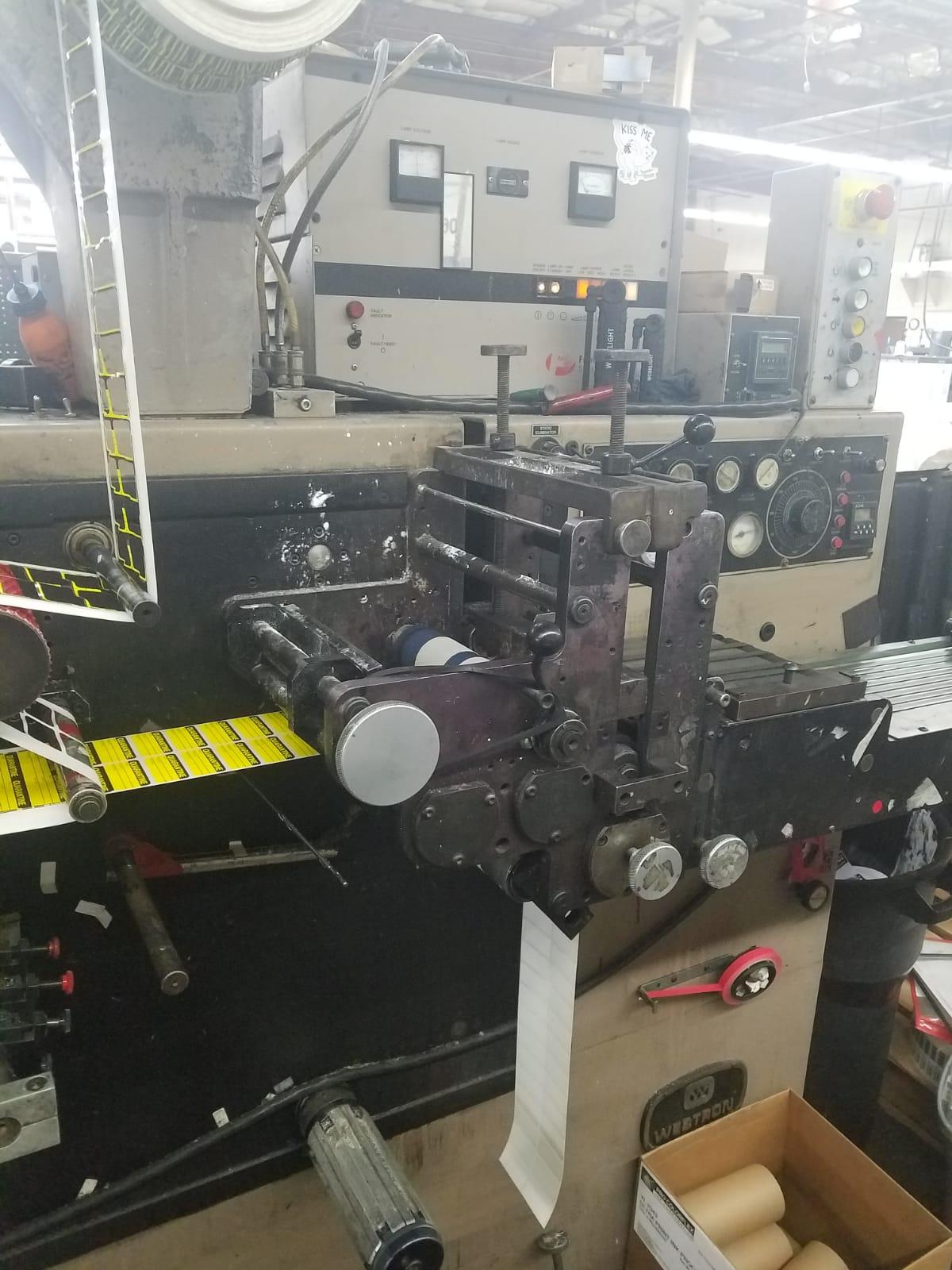 Webtron 750 HQV - Used Flexo Printing Presses and Used Flexographic Equipment-11