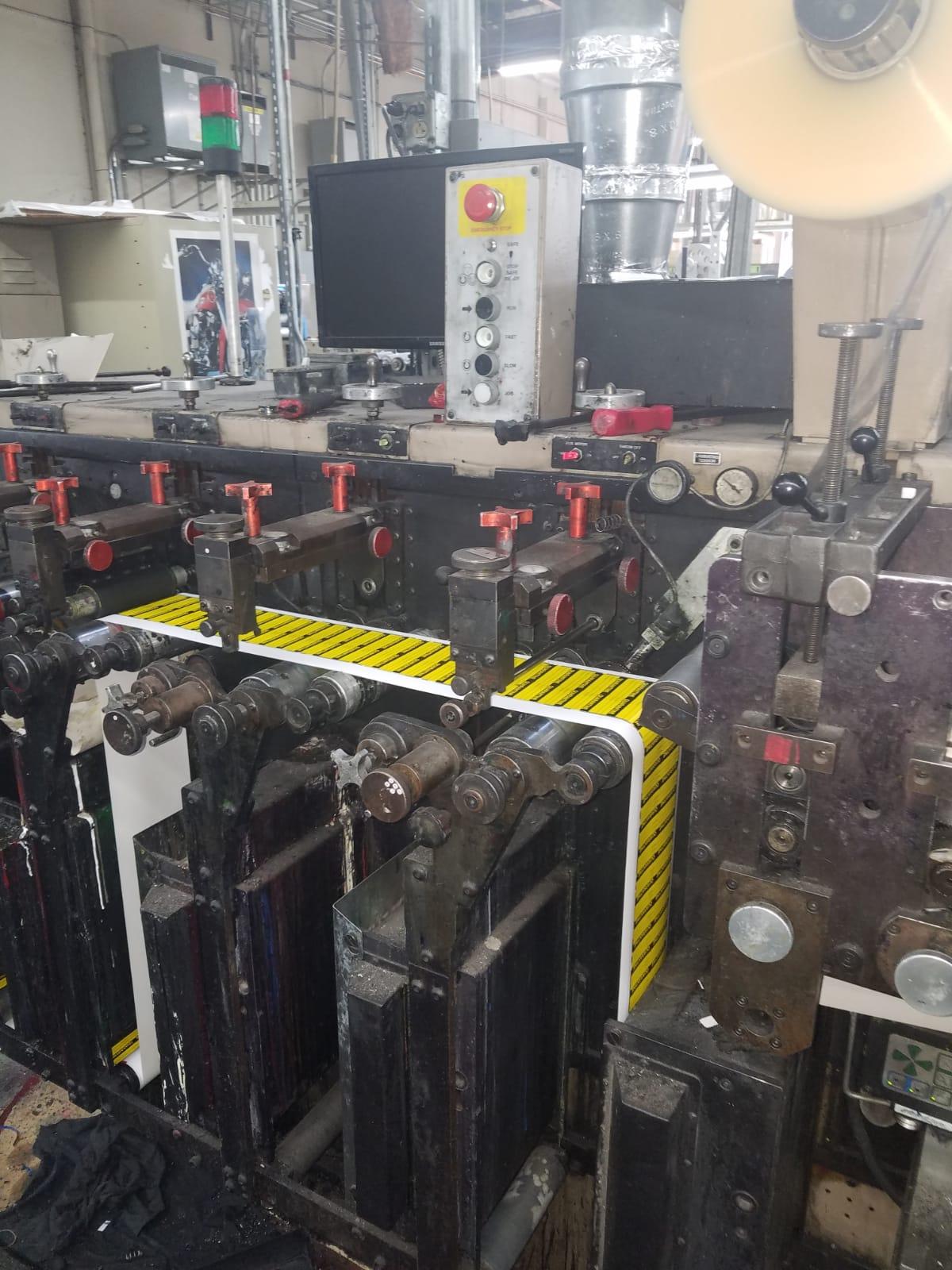 Webtron 750 HQV - Used Flexo Printing Presses and Used Flexographic Equipment-12