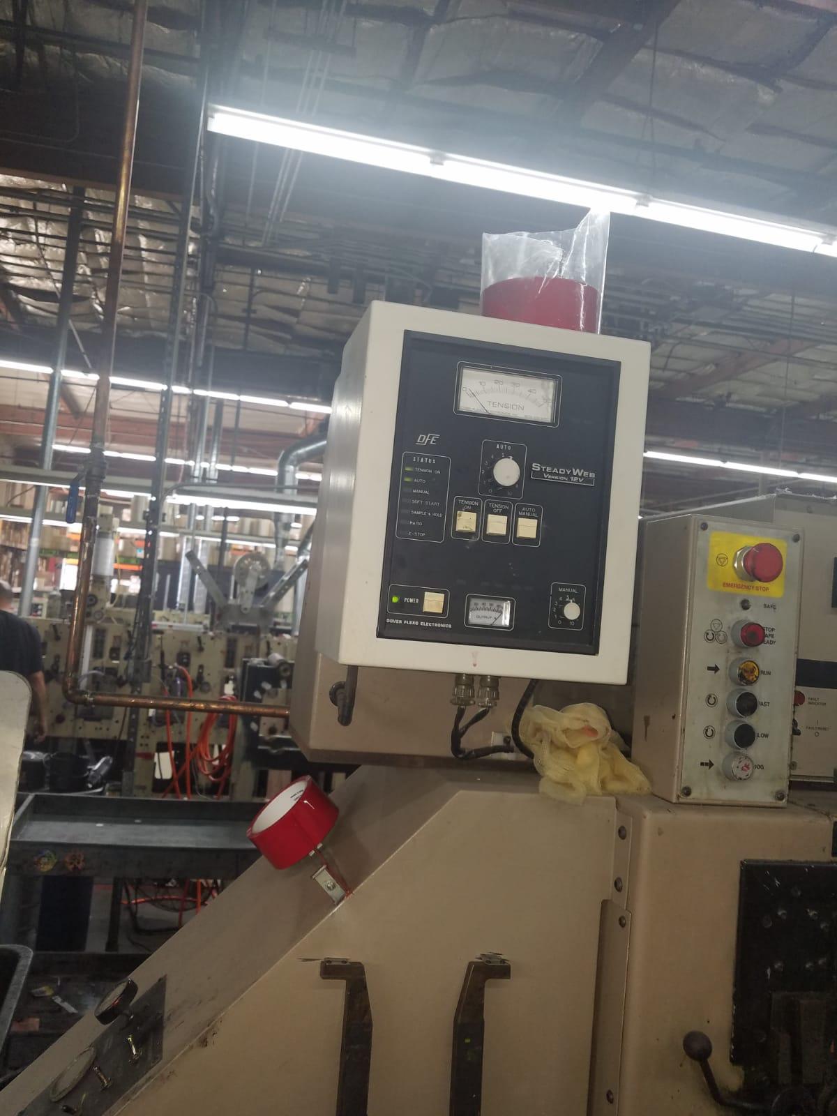 Webtron 750 HQV - Used Flexo Printing Presses and Used Flexographic Equipment-13