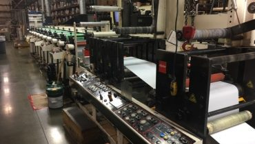 Nilpeter FBZ 4200 - Used Flexo Printing Presses and Used Flexographic Equipment