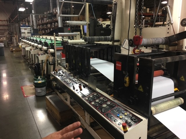 Nilpeter FBZ 4200 - Used Flexo Printing Presses and Used Flexographic Equipment-0