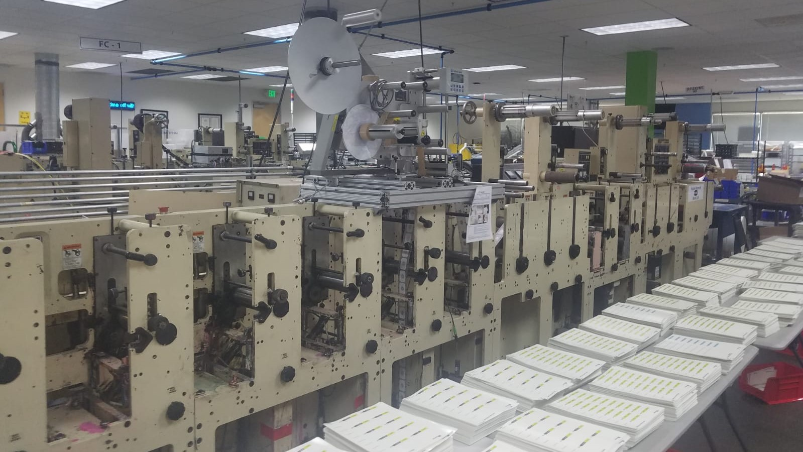 Mark Andy 2200 - Used Flexo Printing Presses and Used Flexographic Equipment-0