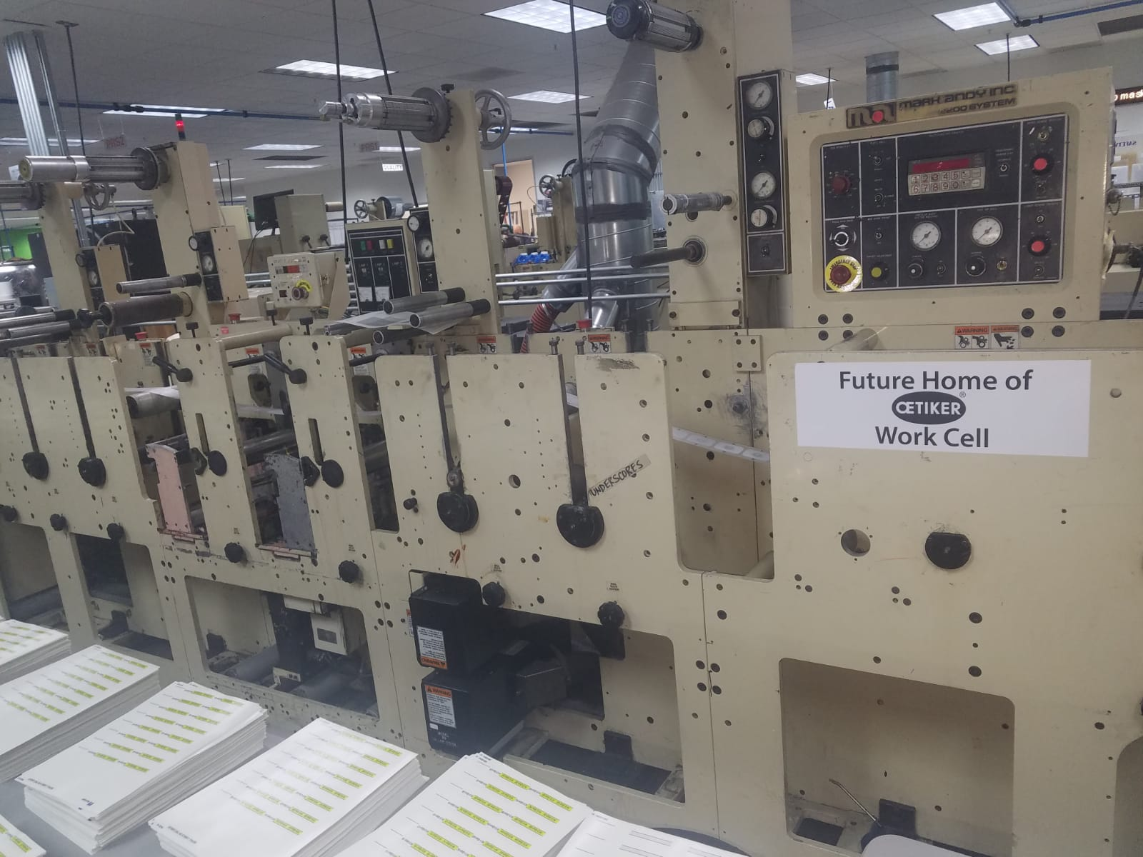 Mark Andy 2200 - Used Flexo Printing Presses and Used Flexographic Equipment-4